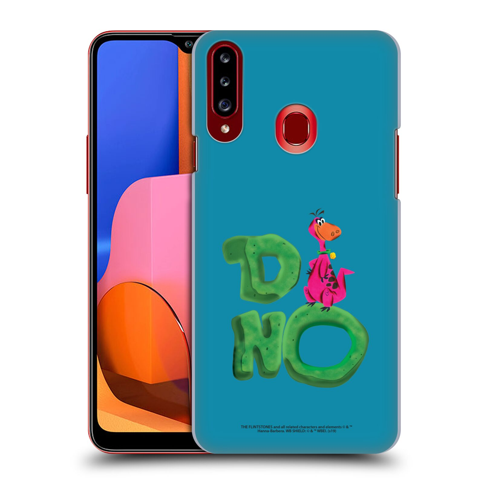 Official The Flintstones Vintage Dino Case for Samsung Galaxy A20s (2019)