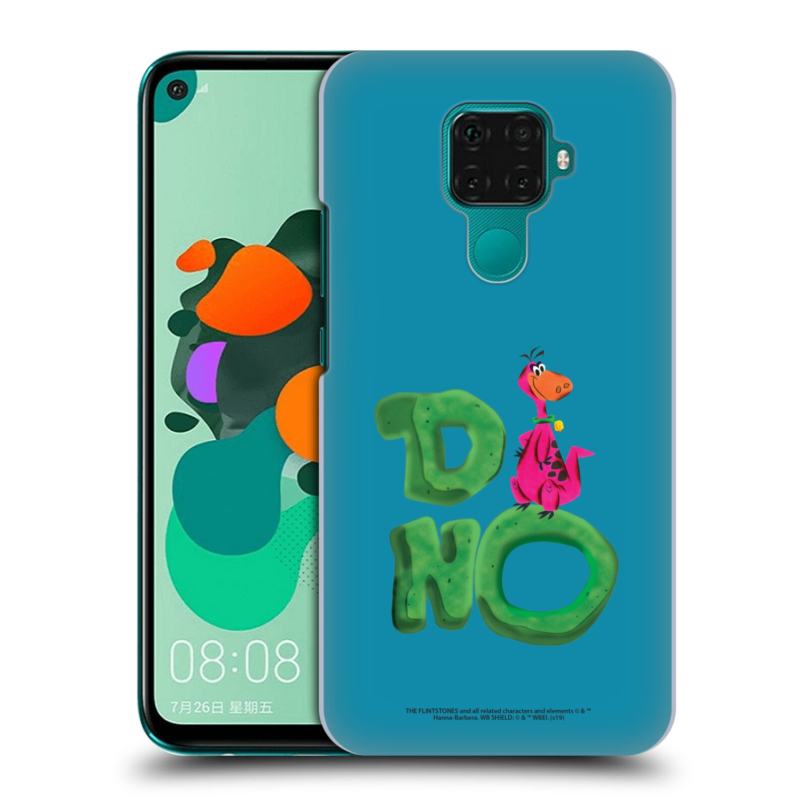 Official The Flintstones Vintage Dino Case for Huawei Nova 5i Pro/Mate 30 Lite