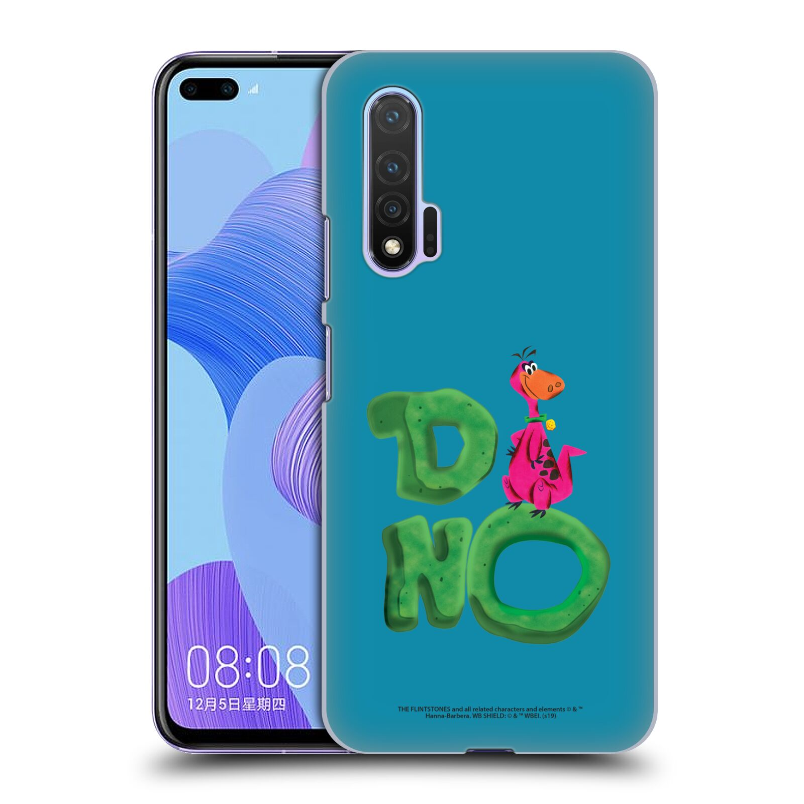Official The Flintstones Vintage Dino Case for Huawei Nova 6 5G