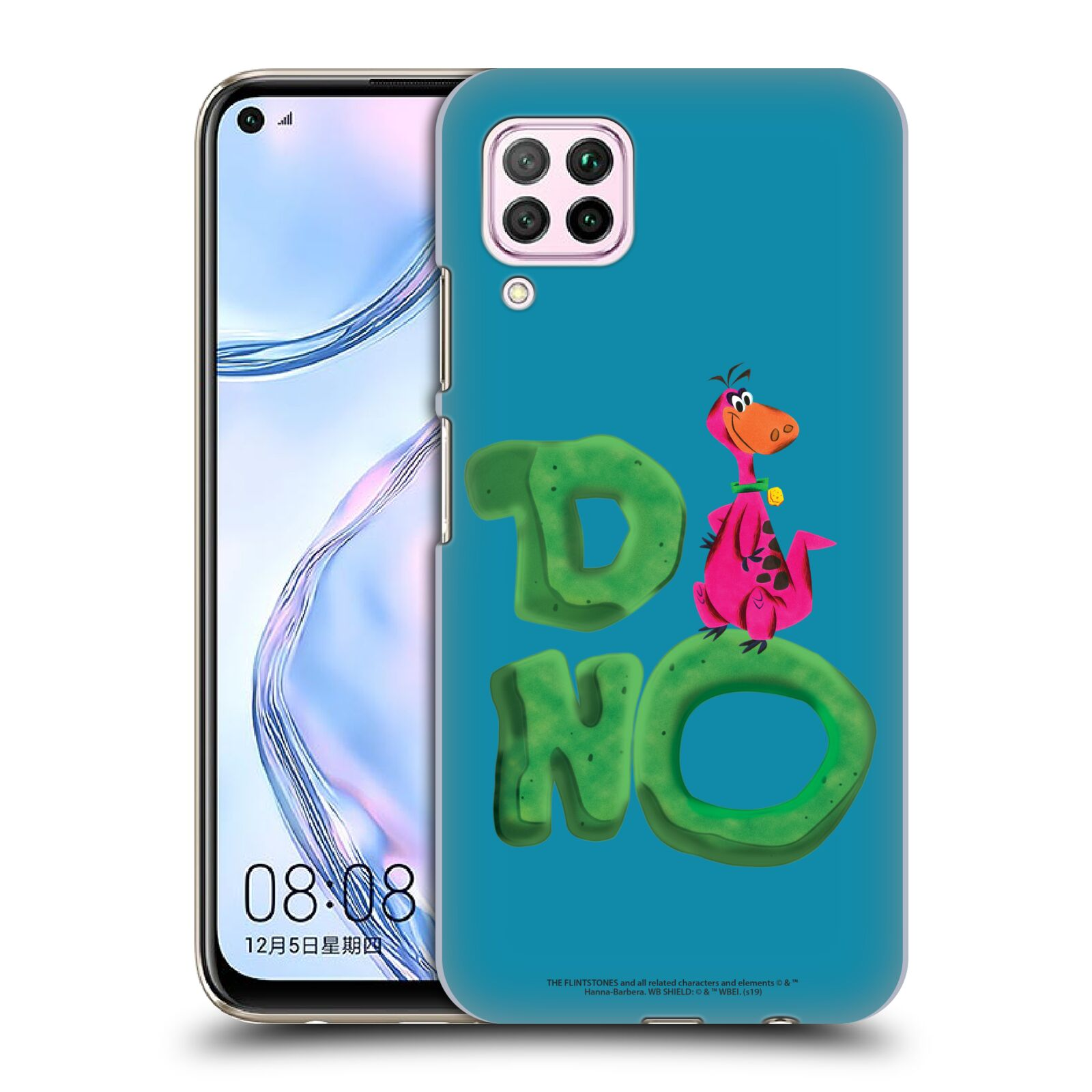 Official The Flintstones Vintage Dino Case for Huawei Nova 6 SE