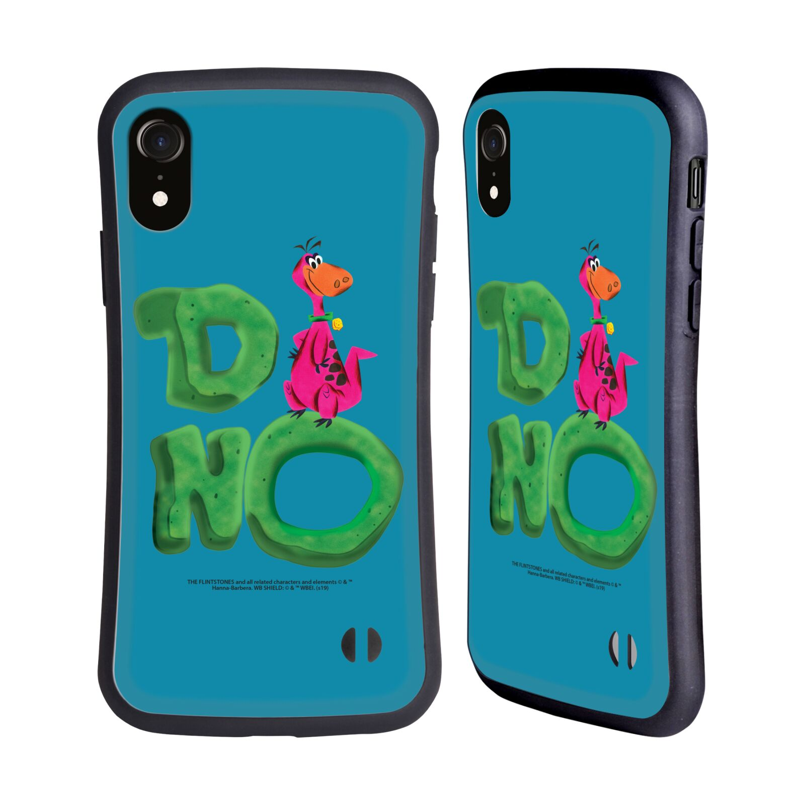 Official The Flintstones Vintage Dino Hybrid Case for Apple iPhone XR