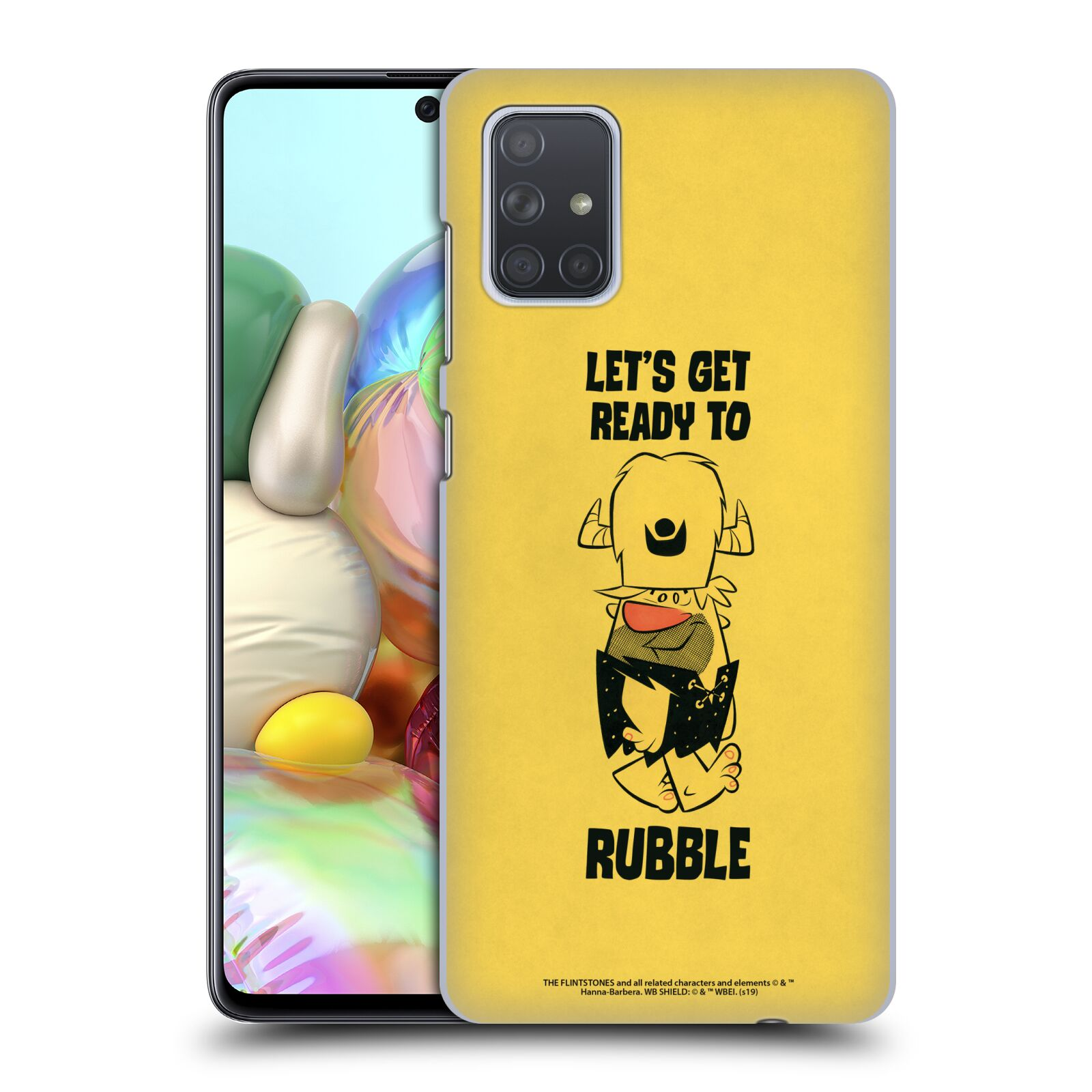 Official The Flintstones Vintage Ready To Rubble Case for Samsung Galaxy A71 (2019)