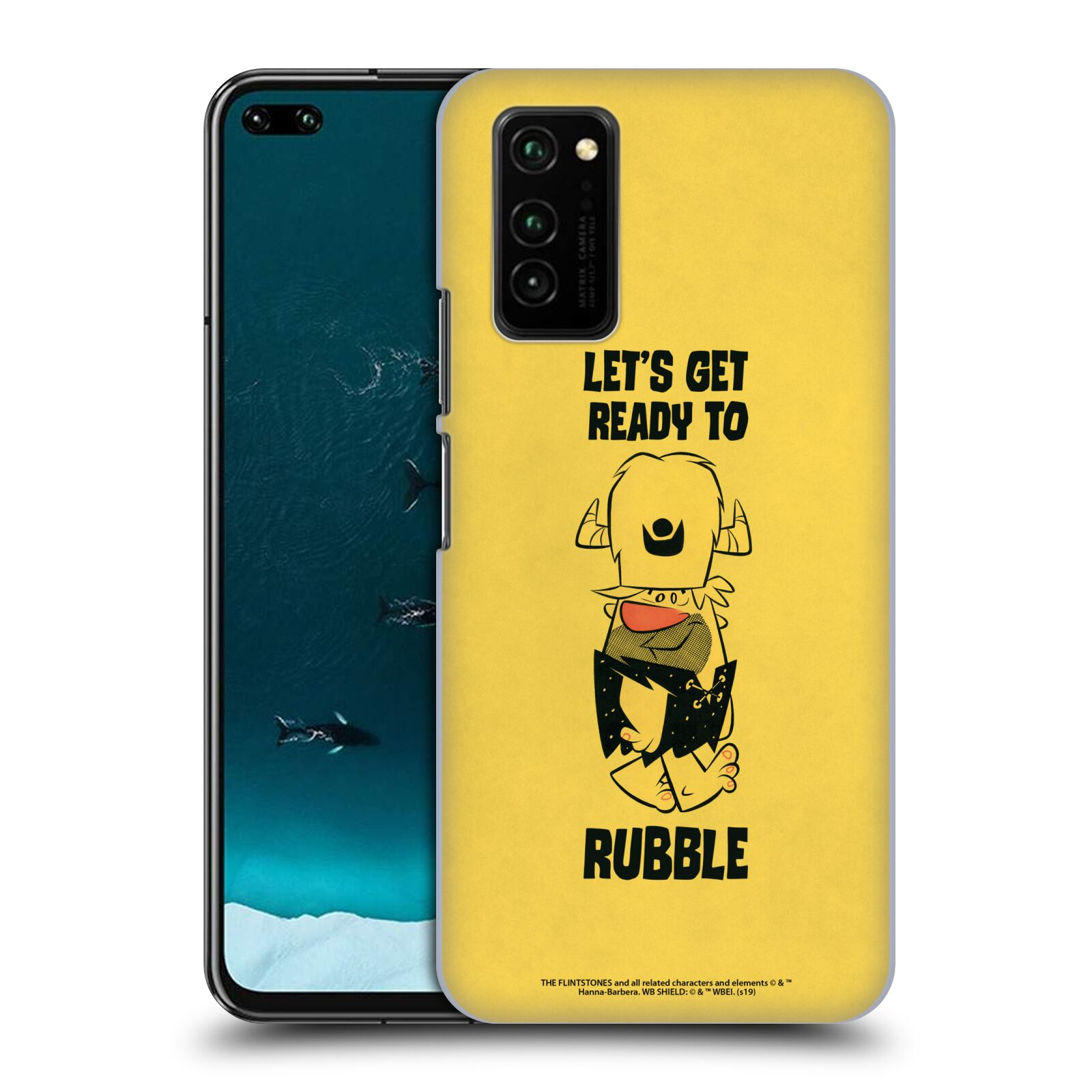 Official The Flintstones Vintage Ready To Rubble Case for Huawei Honor V30 / Honor View 30
