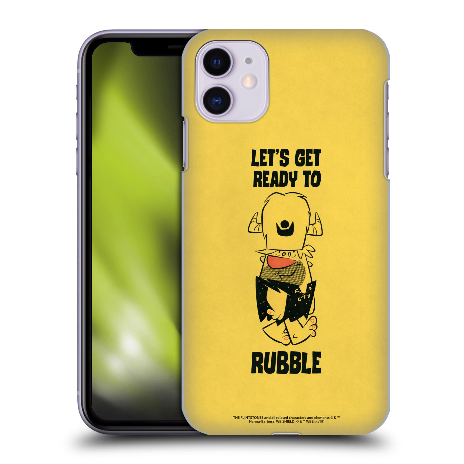 Official The Flintstones Vintage Ready To Rubble Case for Apple iPhone 11