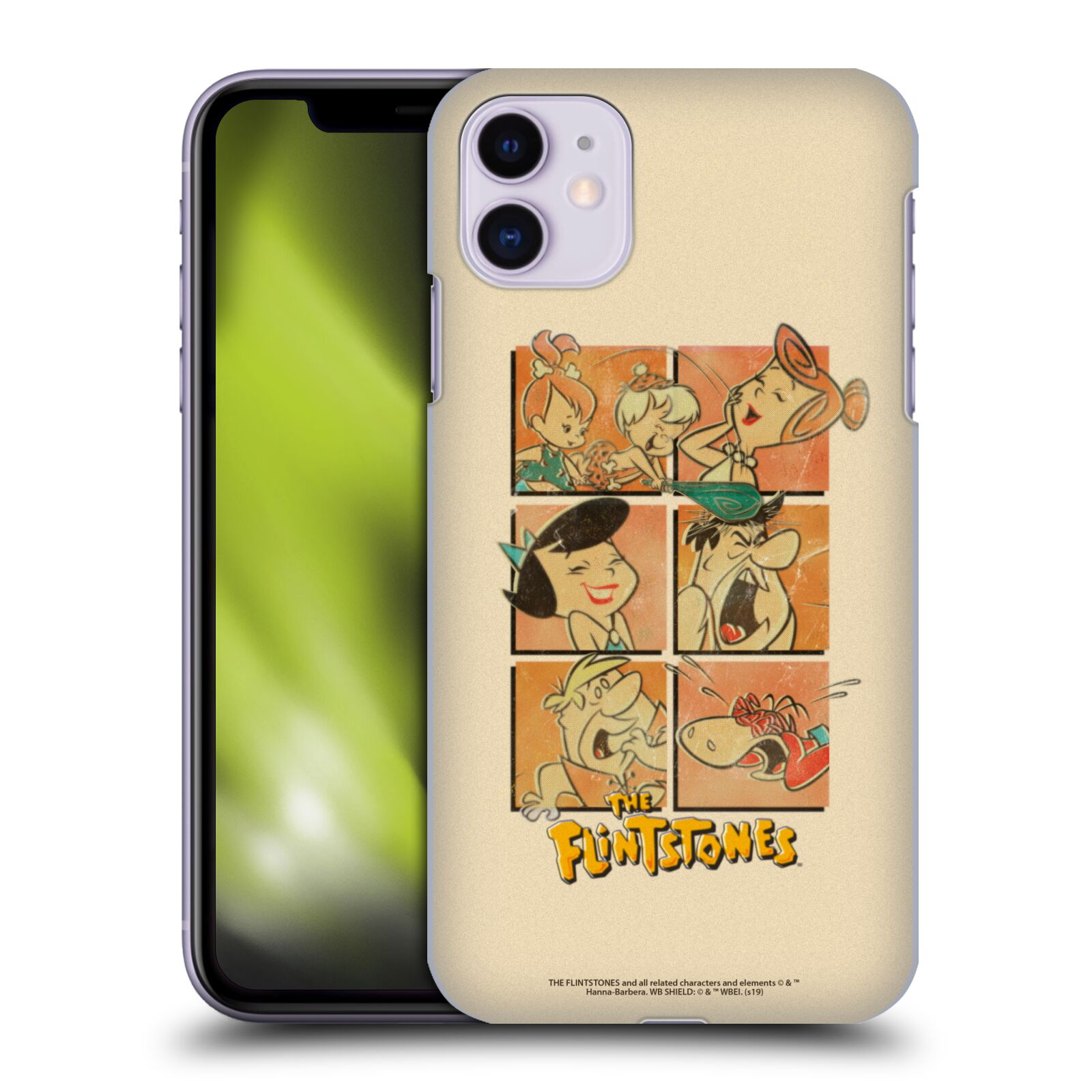 Official The Flintstones Vintage The Gang Case for Apple iPhone 11