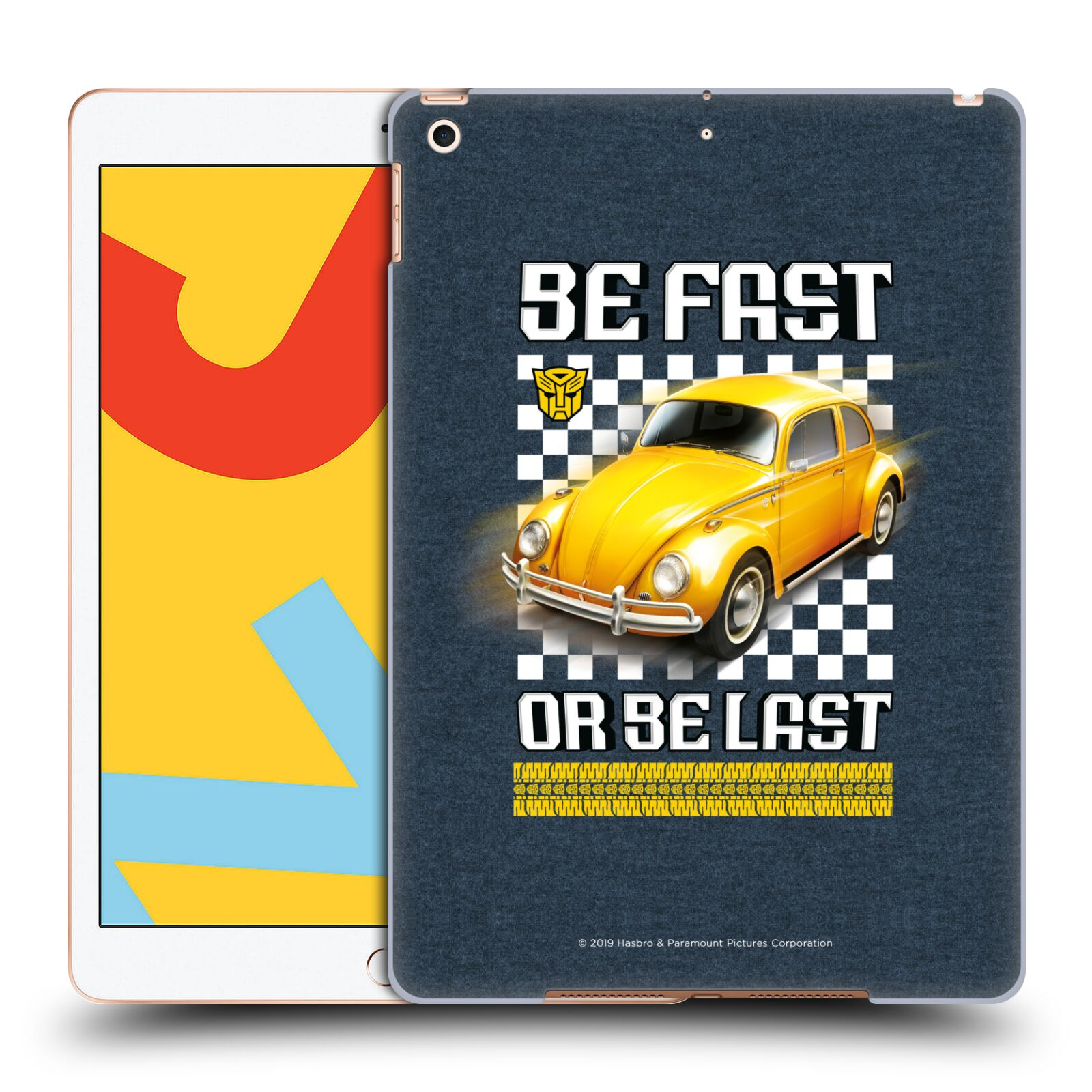 Official Transformers: Bumblebee Movie Graphics Beetle Poster Case for Apple iPad 10.2 (2019)