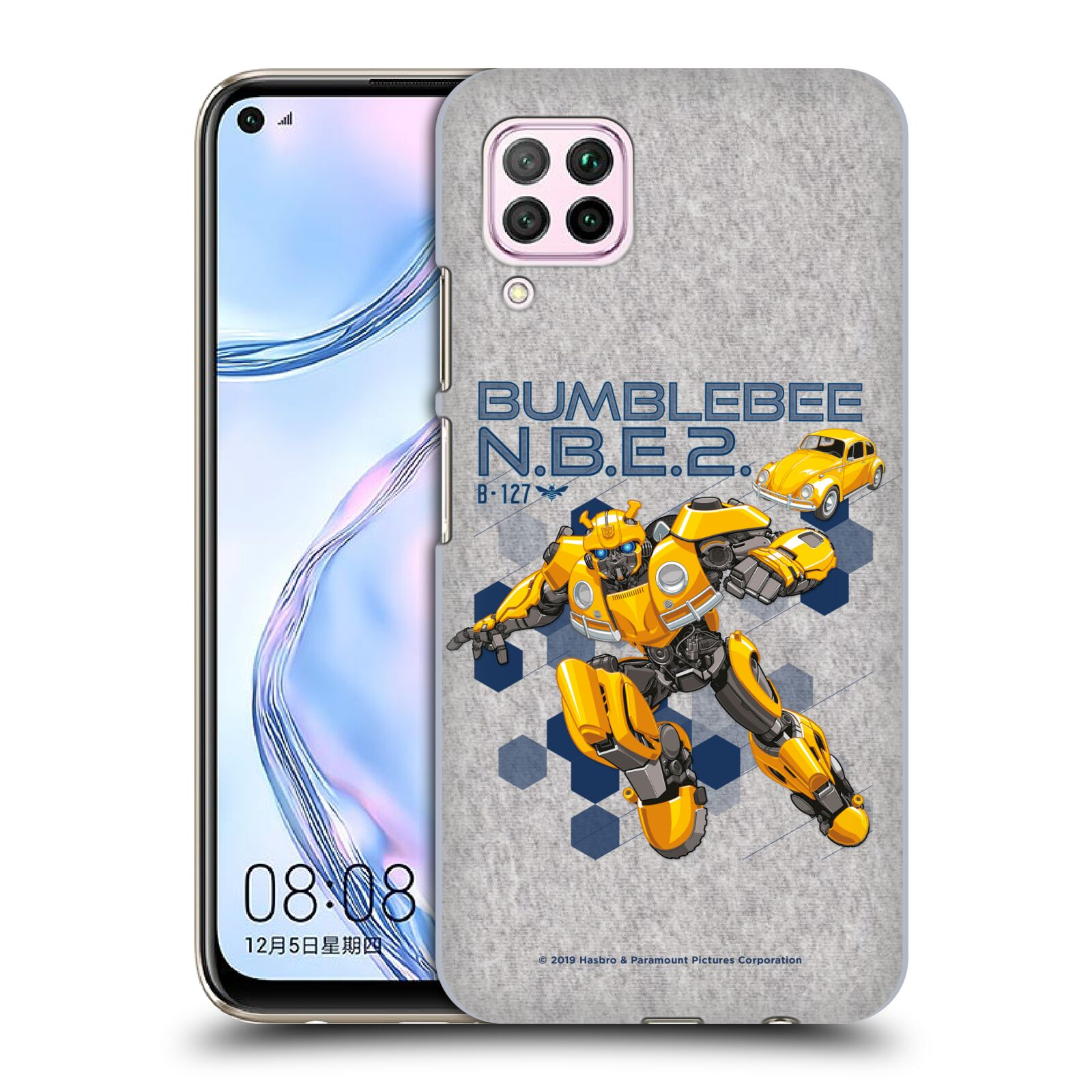 Official Transformers: Bumblebee Movie Graphics Character Poster Case for Huawei Nova 6 SE