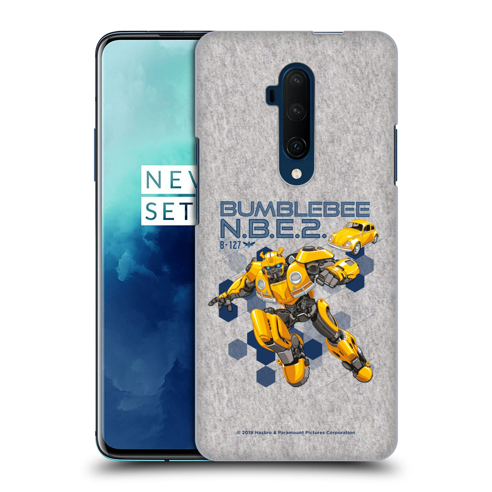 Official Transformers: Bumblebee Movie Graphics Character Poster Case for OnePlus 7T Pro