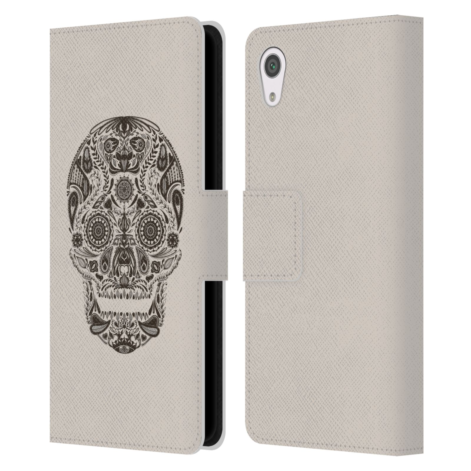 OFFICIAL-TOBE-FONSECA-SKULLS-LEATHER-BOOK-WALLET-CASE-COVER-FOR-SONY-PHONES-1
