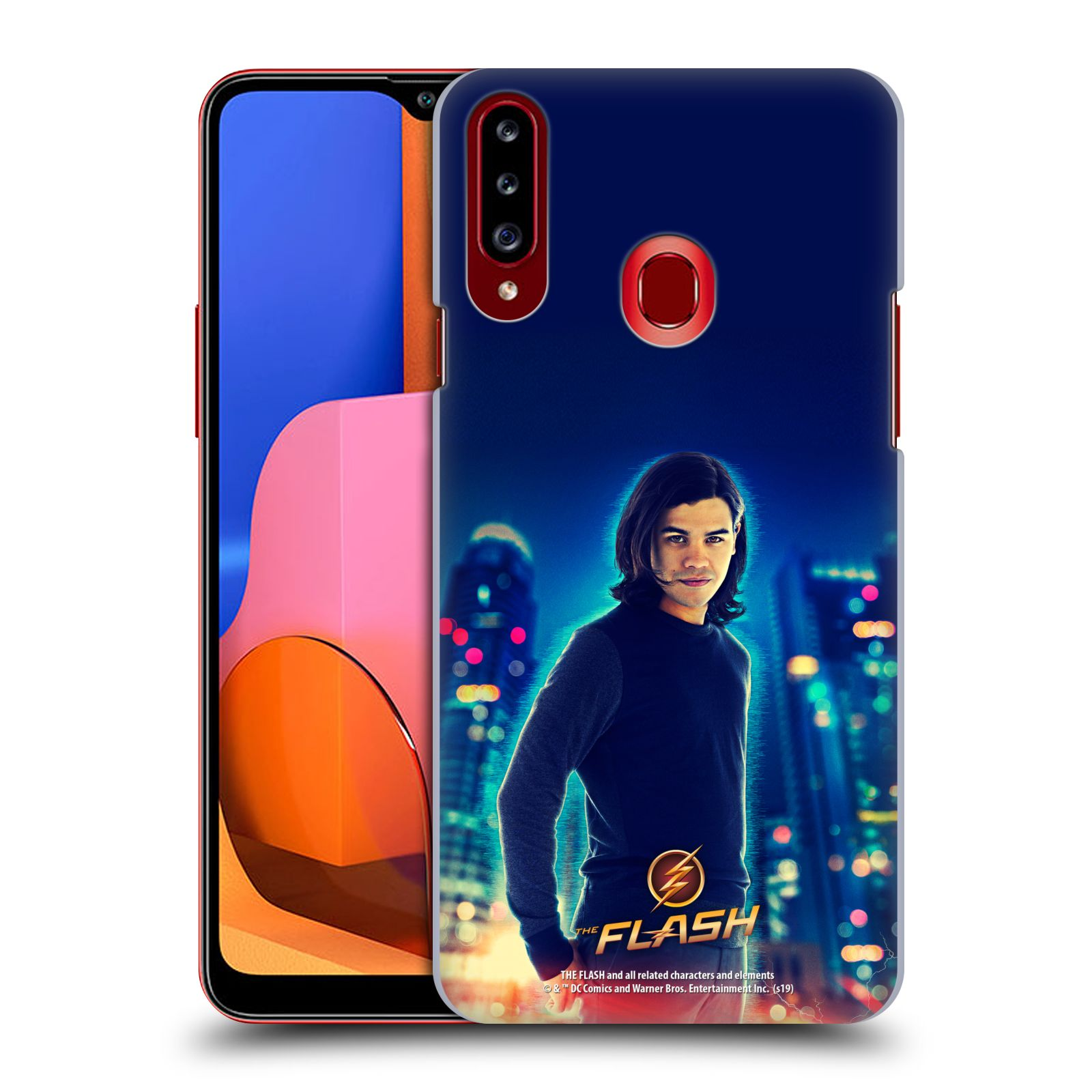 Official The Flash TV Series Character Art Cisco Ramon Case for Samsung Galaxy A20s (2019)