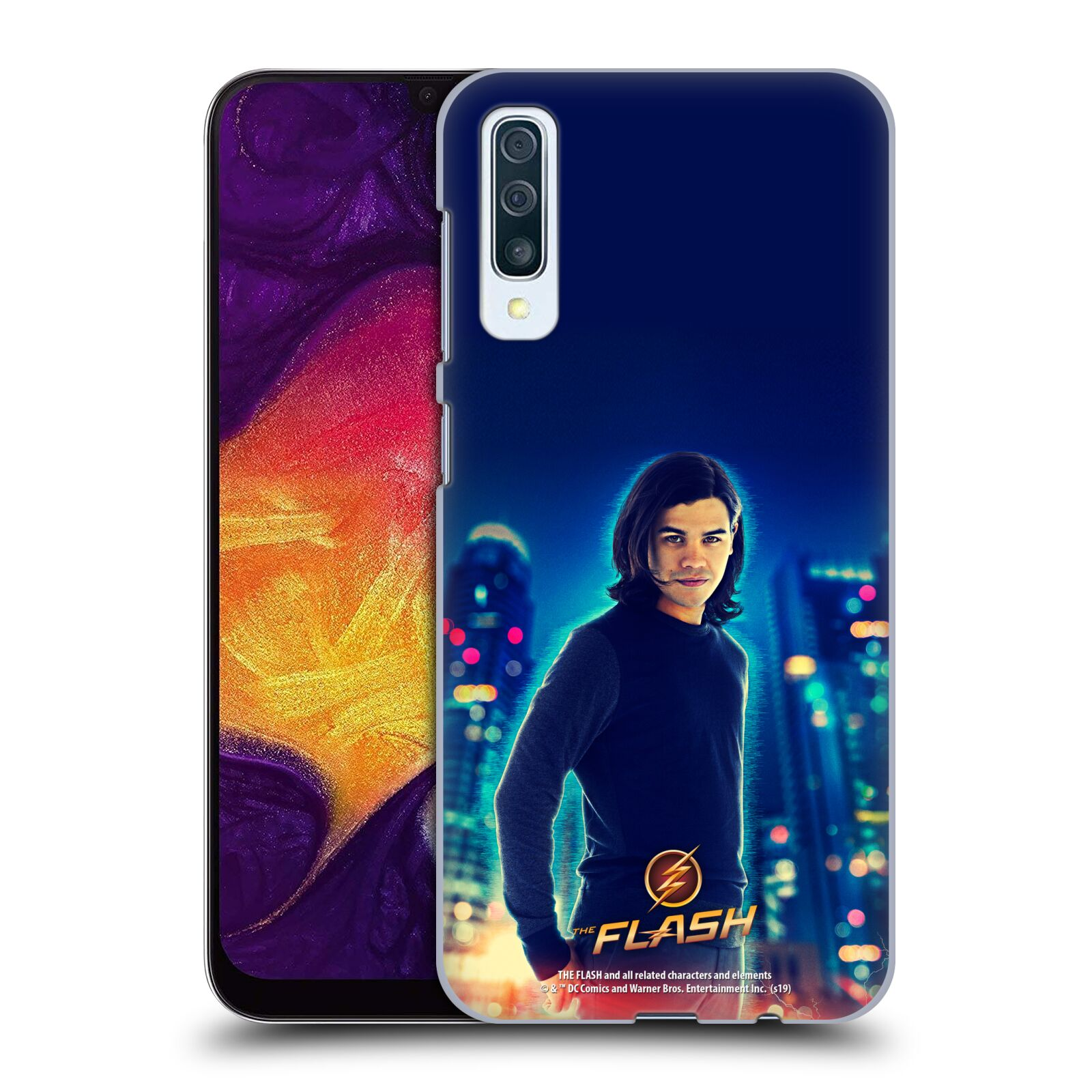 Official The Flash TV Series Character Art Cisco Ramon Case for Samsung Galaxy A50s (2019)
