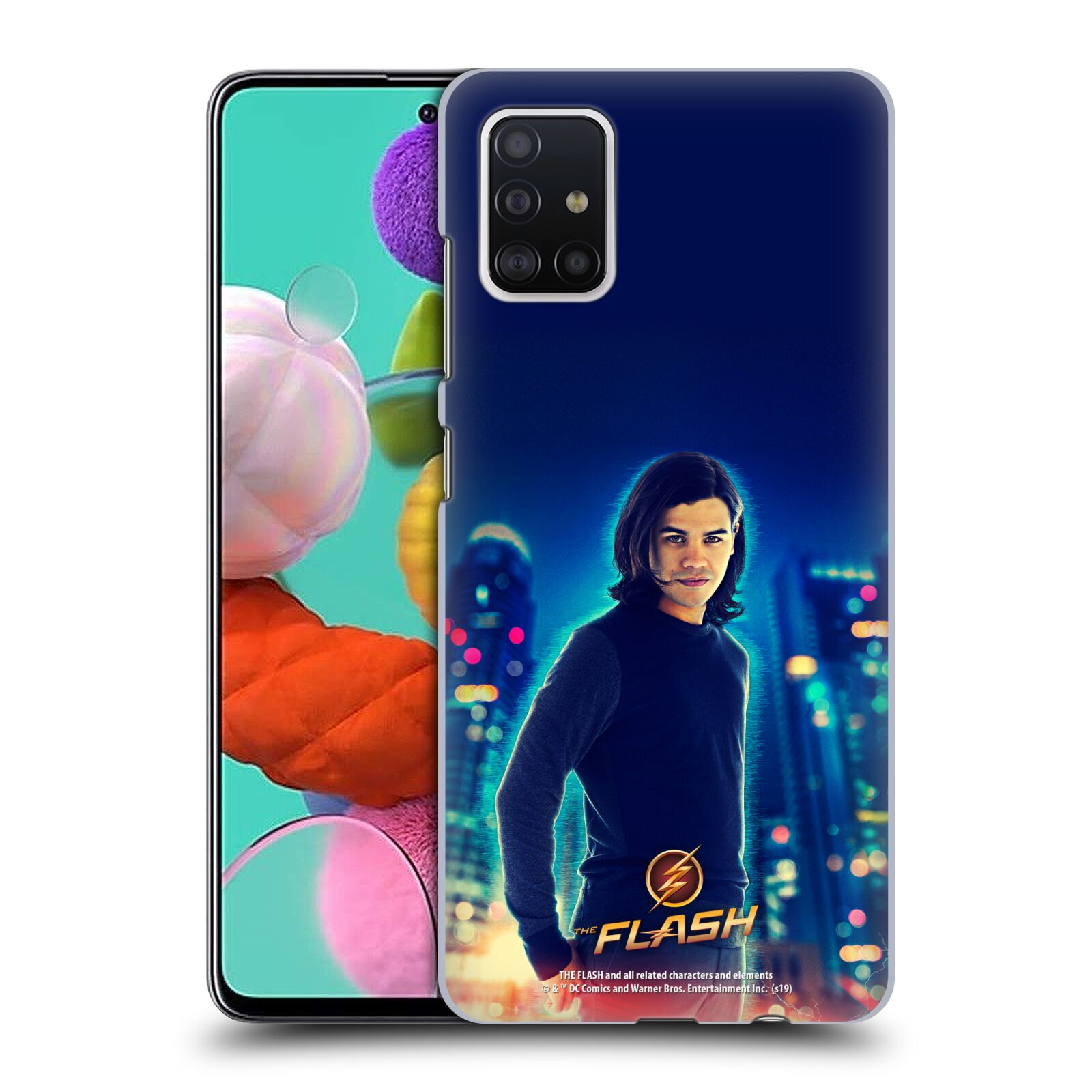 Official The Flash TV Series Character Art Cisco Ramon Case for Samsung Galaxy A51 (2019)