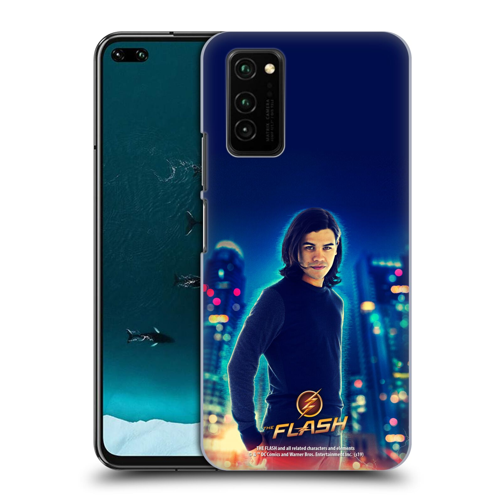 Official The Flash TV Series Character Art Cisco Ramon Case for Huawei Honor V30 / Honor View 30