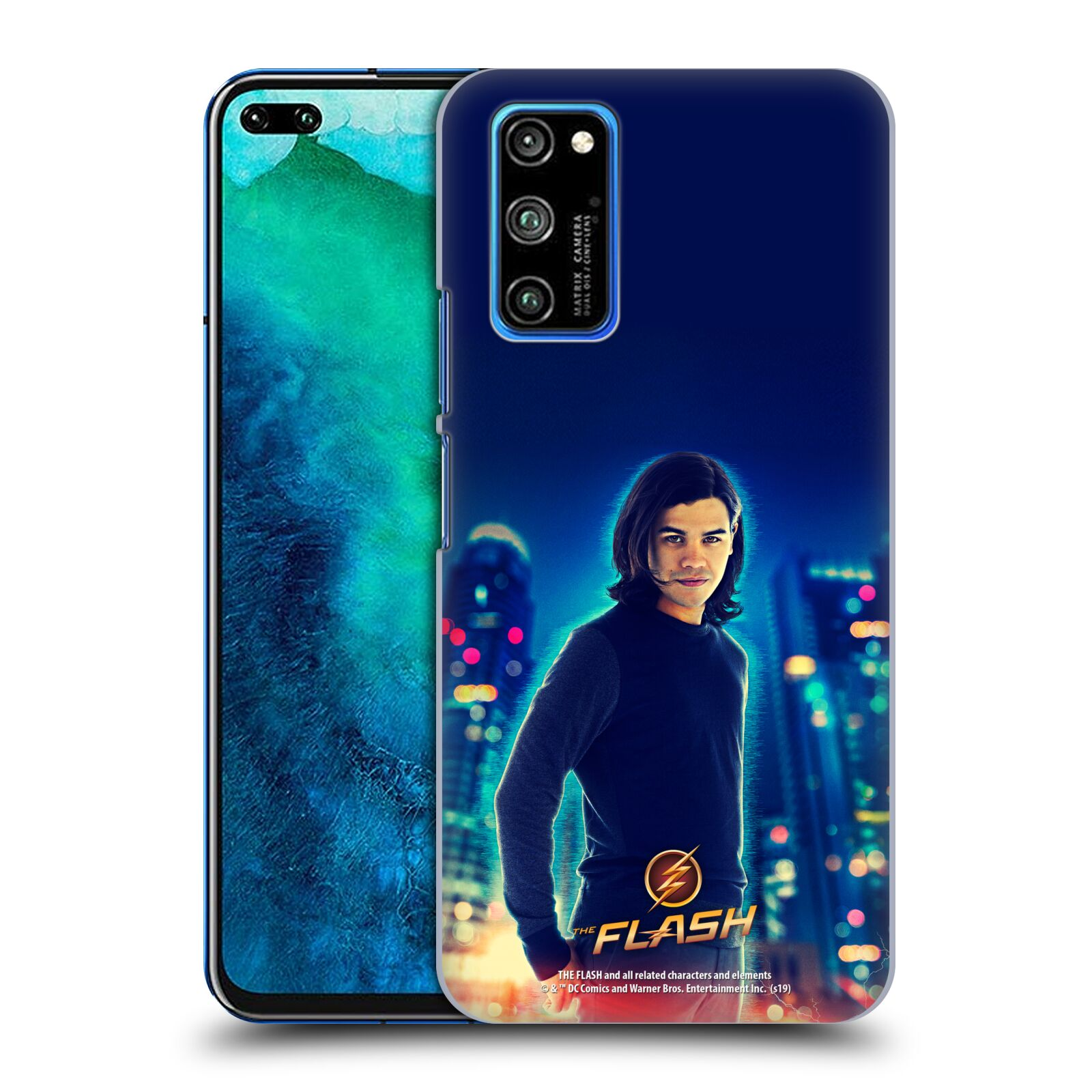 Official The Flash TV Series Character Art Cisco Ramon Case for Huawei Honor V30 Pro / View 30 Pro