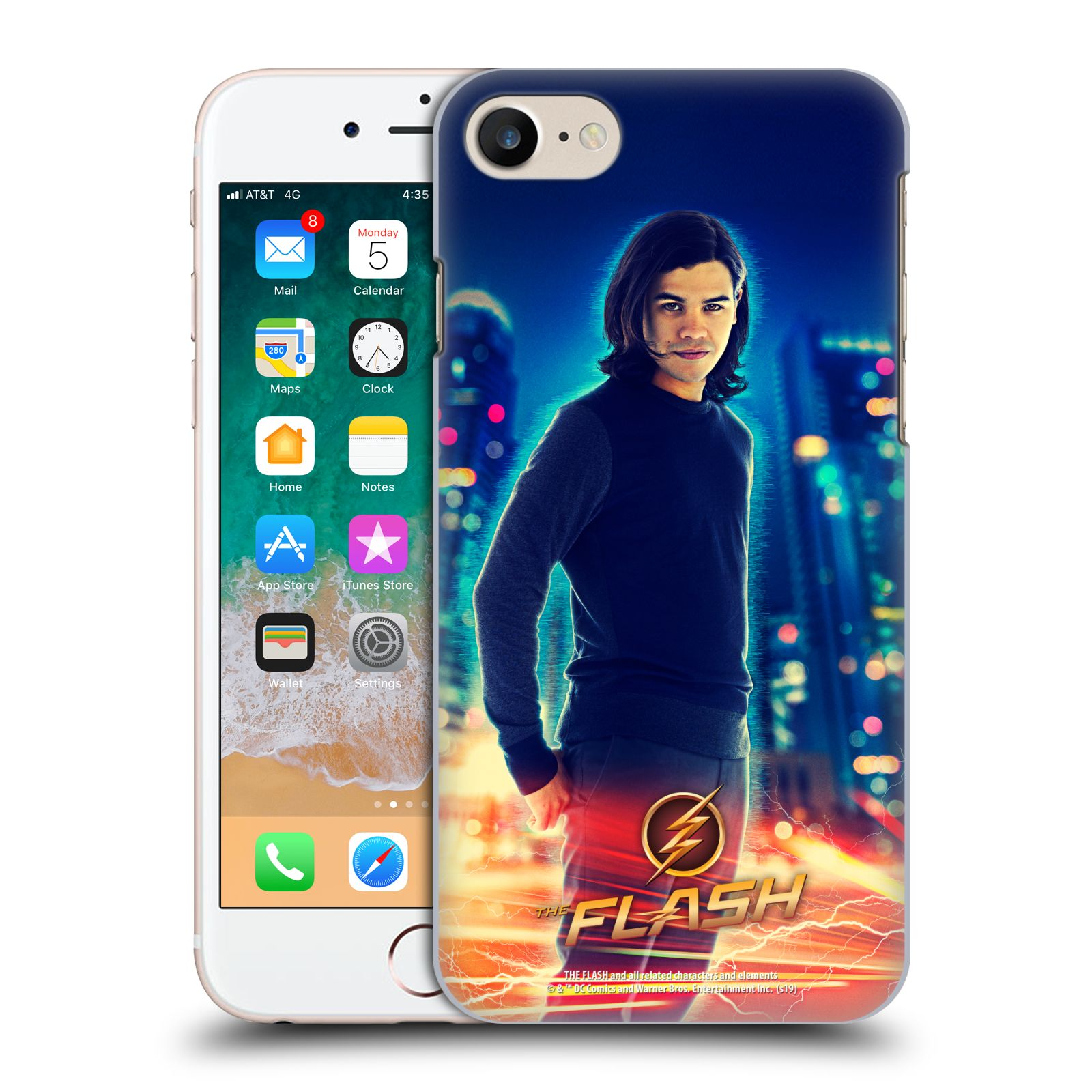 Official The Flash TV Series Character Art Cisco Ramon Case for Apple iPhone 7 / 8 / iPhone SE 2020