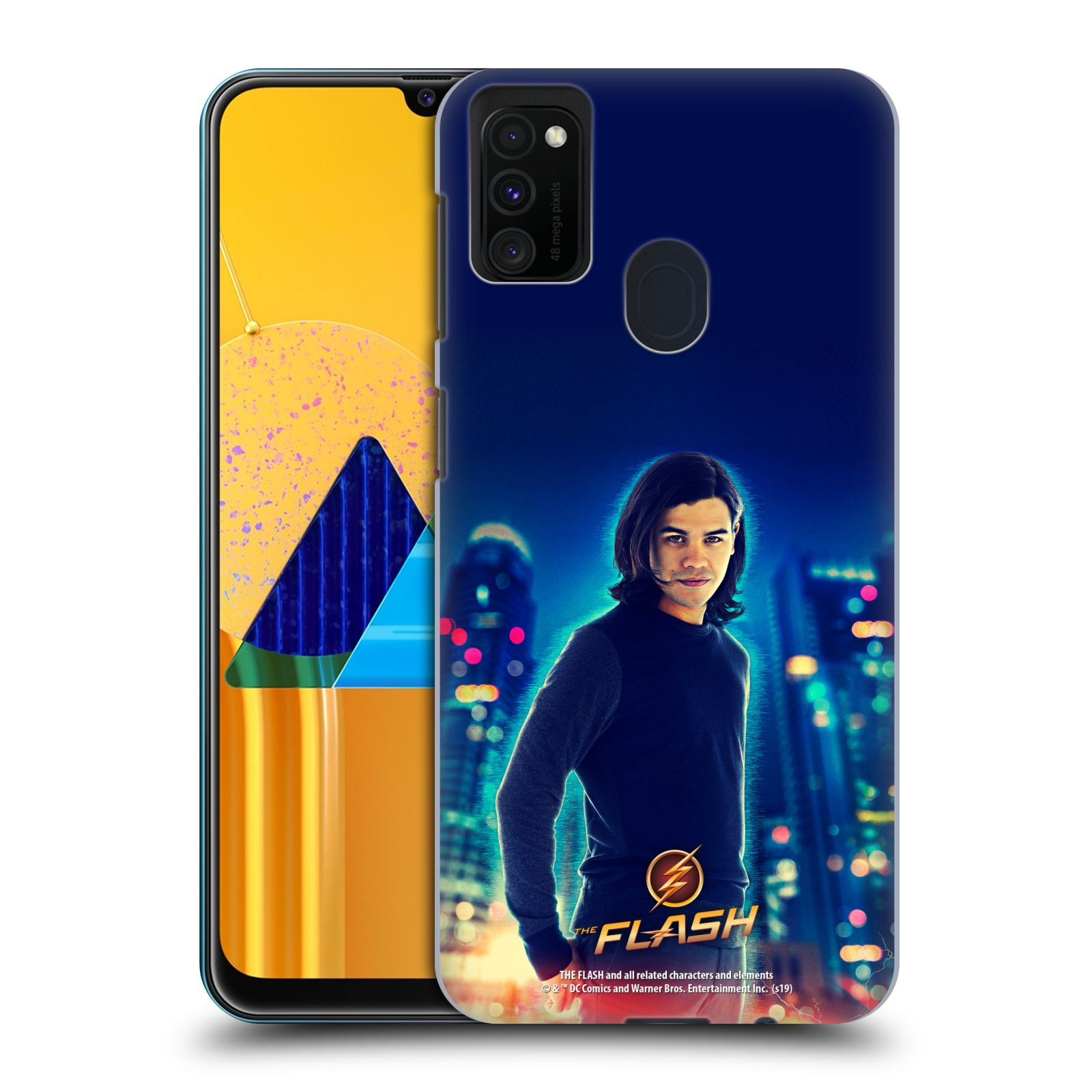 Official The Flash TV Series Character Art Cisco Ramon Case for Samsung Galaxy M30s (2019)