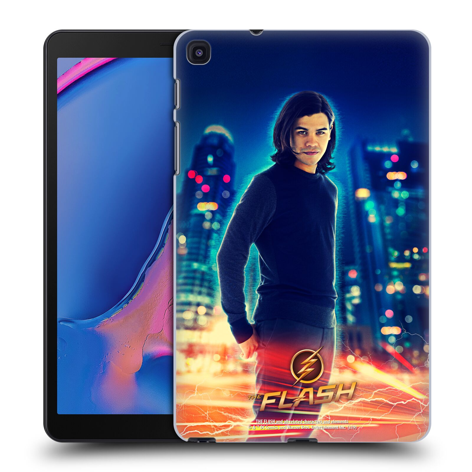 Official The Flash TV Series Character Art Cisco Ramon Case for Samsung Galaxy Tab A 8.0 & S Pen 2019