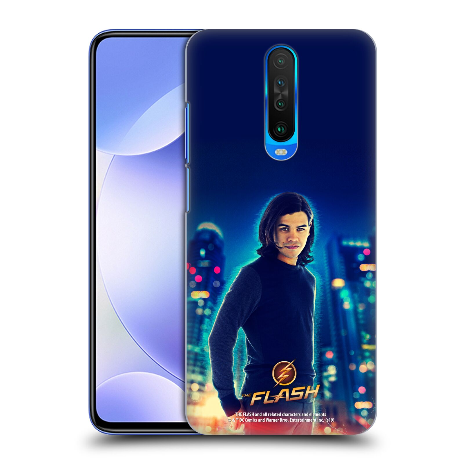 Official The Flash TV Series Character Art Cisco Ramon Case for Xiaomi Redmi K30 / 5G