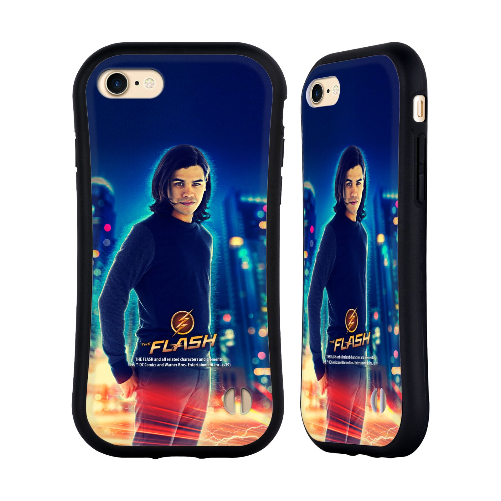 Official The Flash TV Series Character Art Cisco Ramon Hybrid Case for Apple iPhone 7 / 8 / iPhone SE 2020