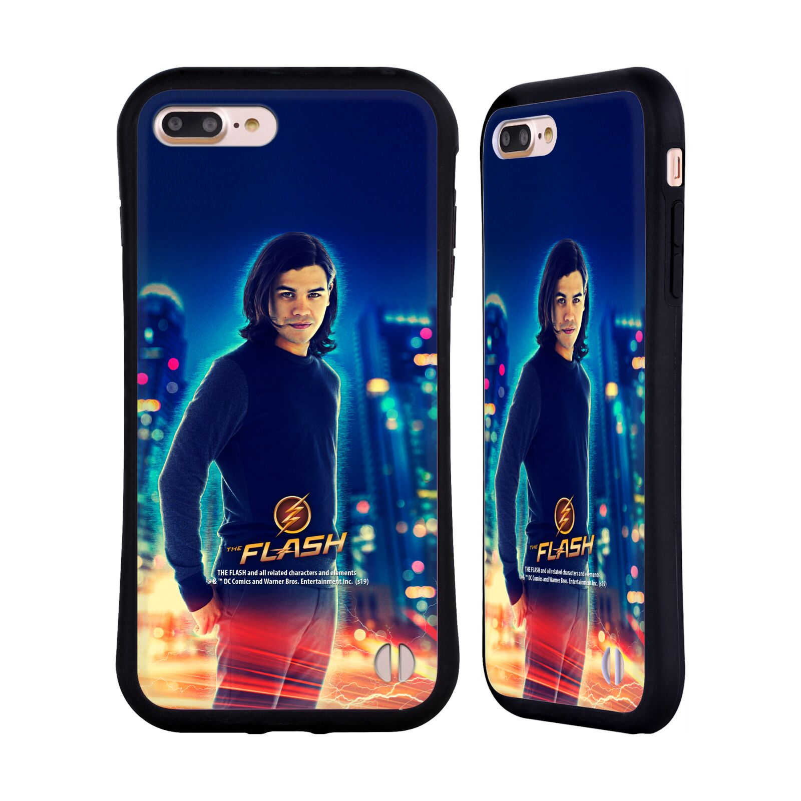 Official The Flash TV Series Character Art Cisco Ramon Hybrid Case for Apple iPhone 7 Plus / iPhone 8 Plus