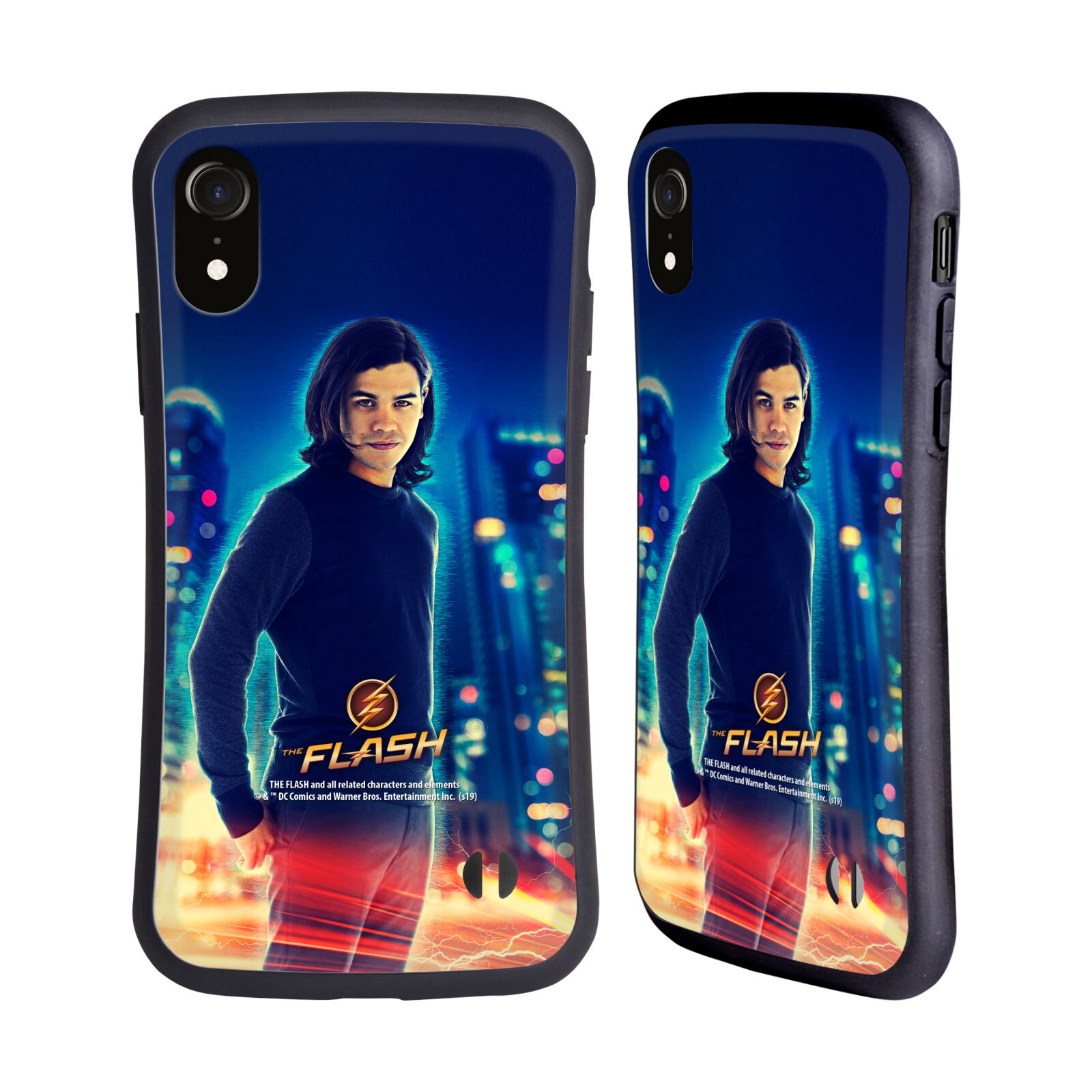 Official The Flash TV Series Character Art Cisco Ramon Hybrid Case for Apple iPhone XR