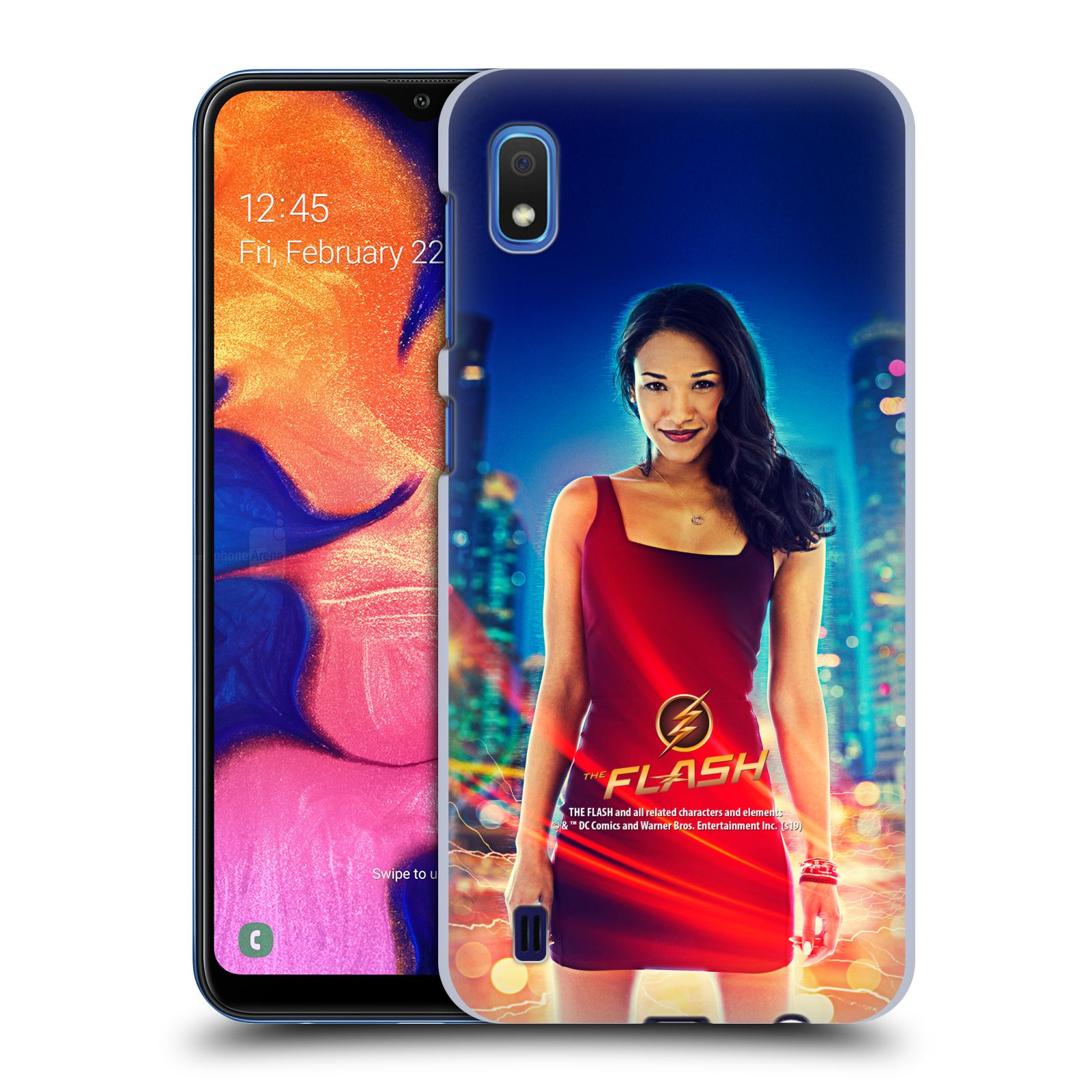 Official The Flash TV Series Character Art Iris West Case for Samsung Galaxy A10 (2019)