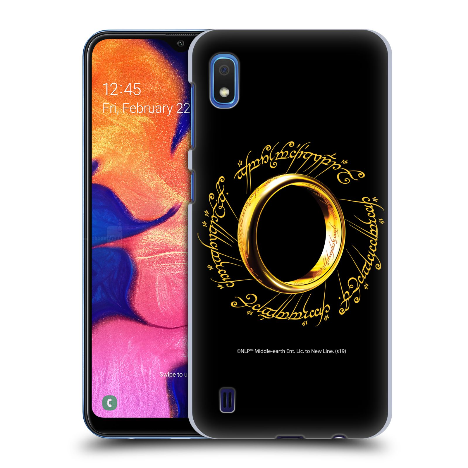 Official The Lord Of The Rings: The Fellowship Of The Ring Graphics One Ring Case for Samsung Galaxy A10 (2019)