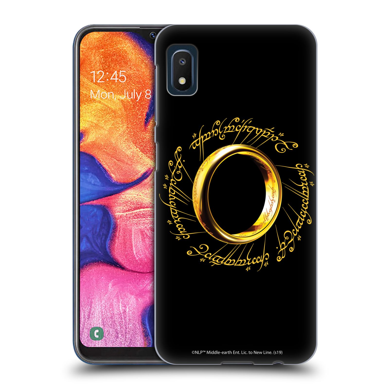 Official The Lord Of The Rings: The Fellowship Of The Ring Graphics One Ring Case for Samsung Galaxy A10e (2019)