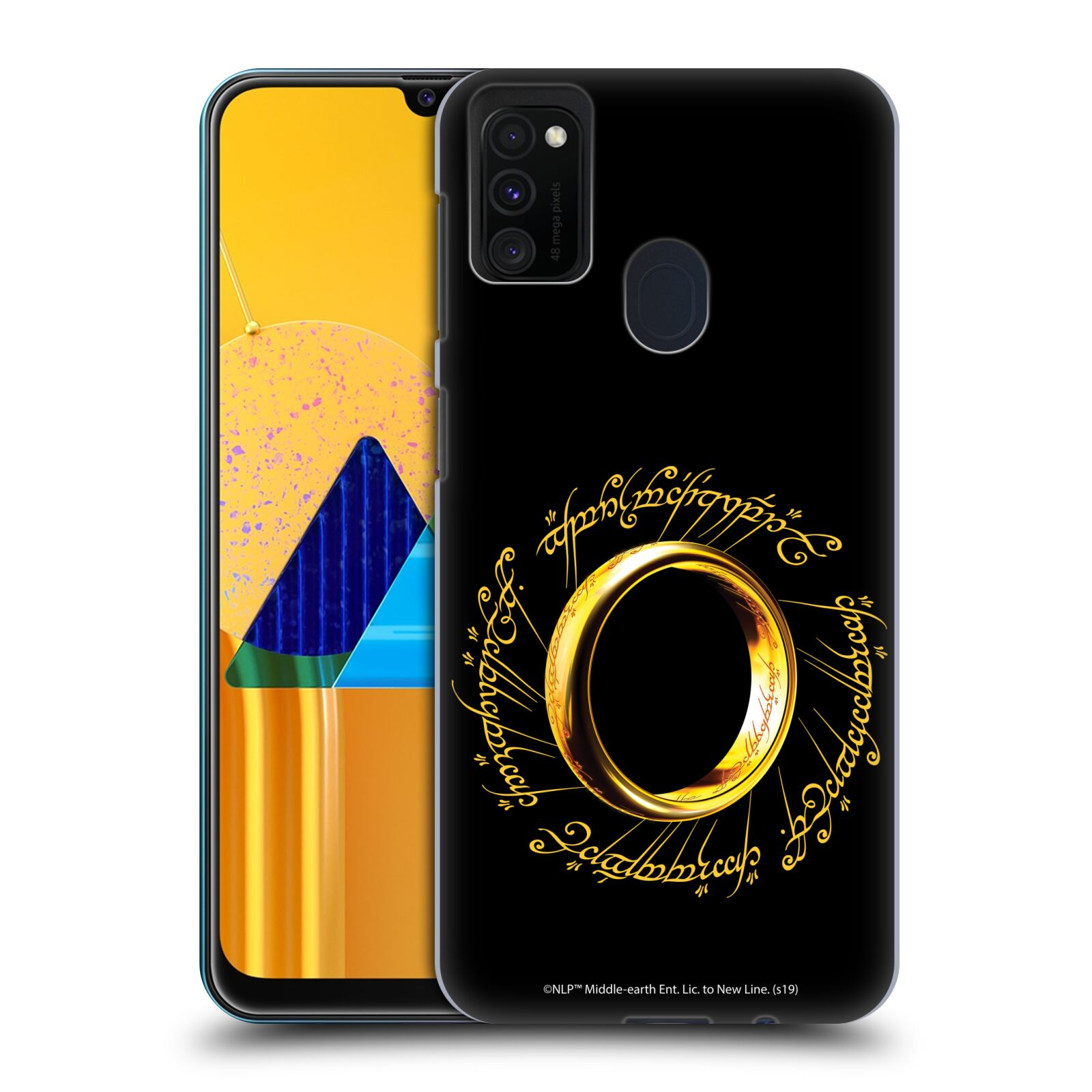 Official The Lord Of The Rings: The Fellowship Of The Ring Graphics One Ring Case for Samsung Galaxy M30s (2019)