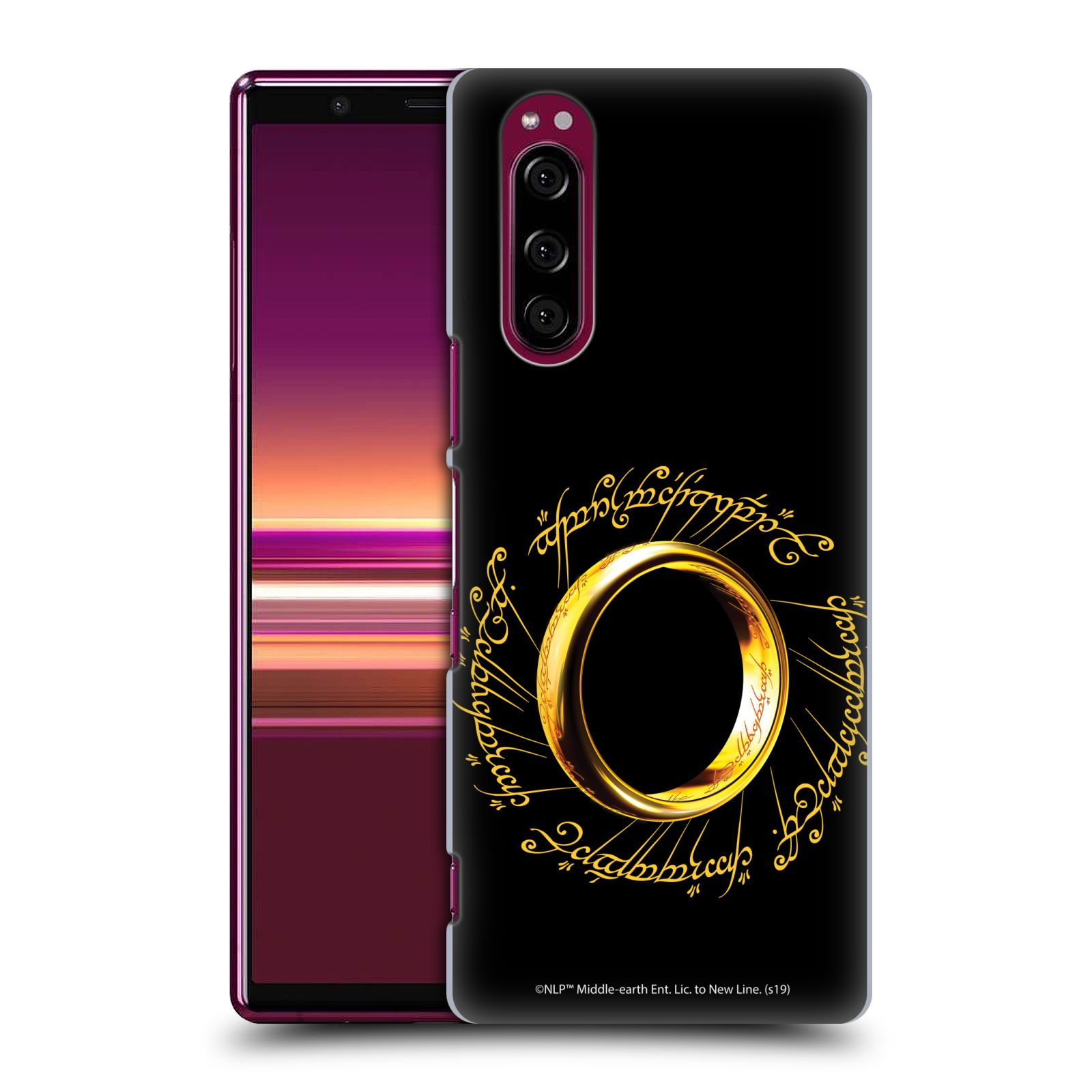 Official The Lord Of The Rings: The Fellowship Of The Ring Graphics One Ring Case for Sony Xperia 5