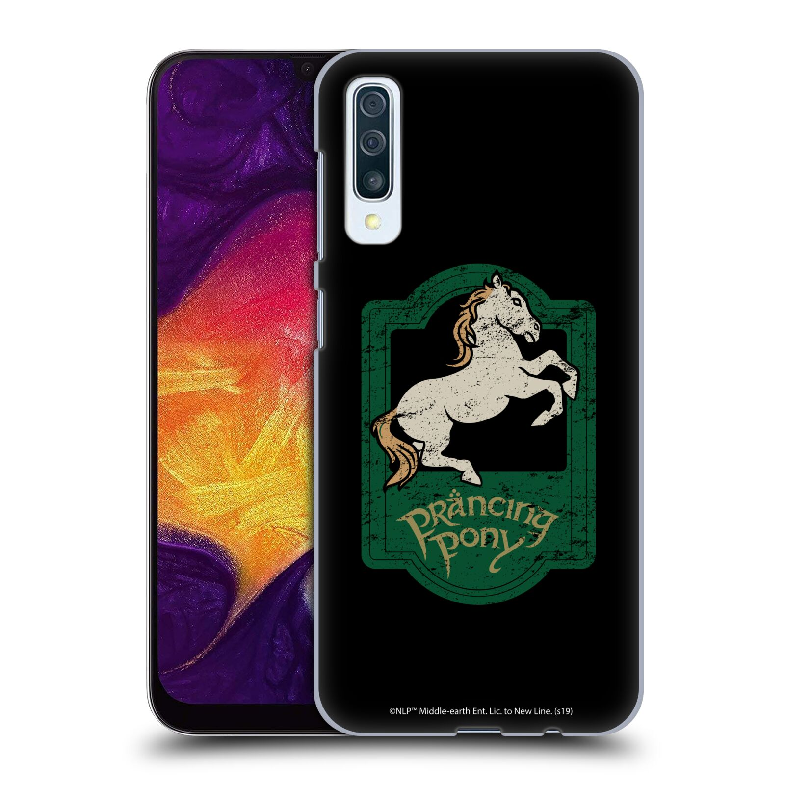 Official The Lord Of The Rings: The Fellowship Of The Ring Graphics Prancing Pony Case for Samsung Galaxy A50s (2019)