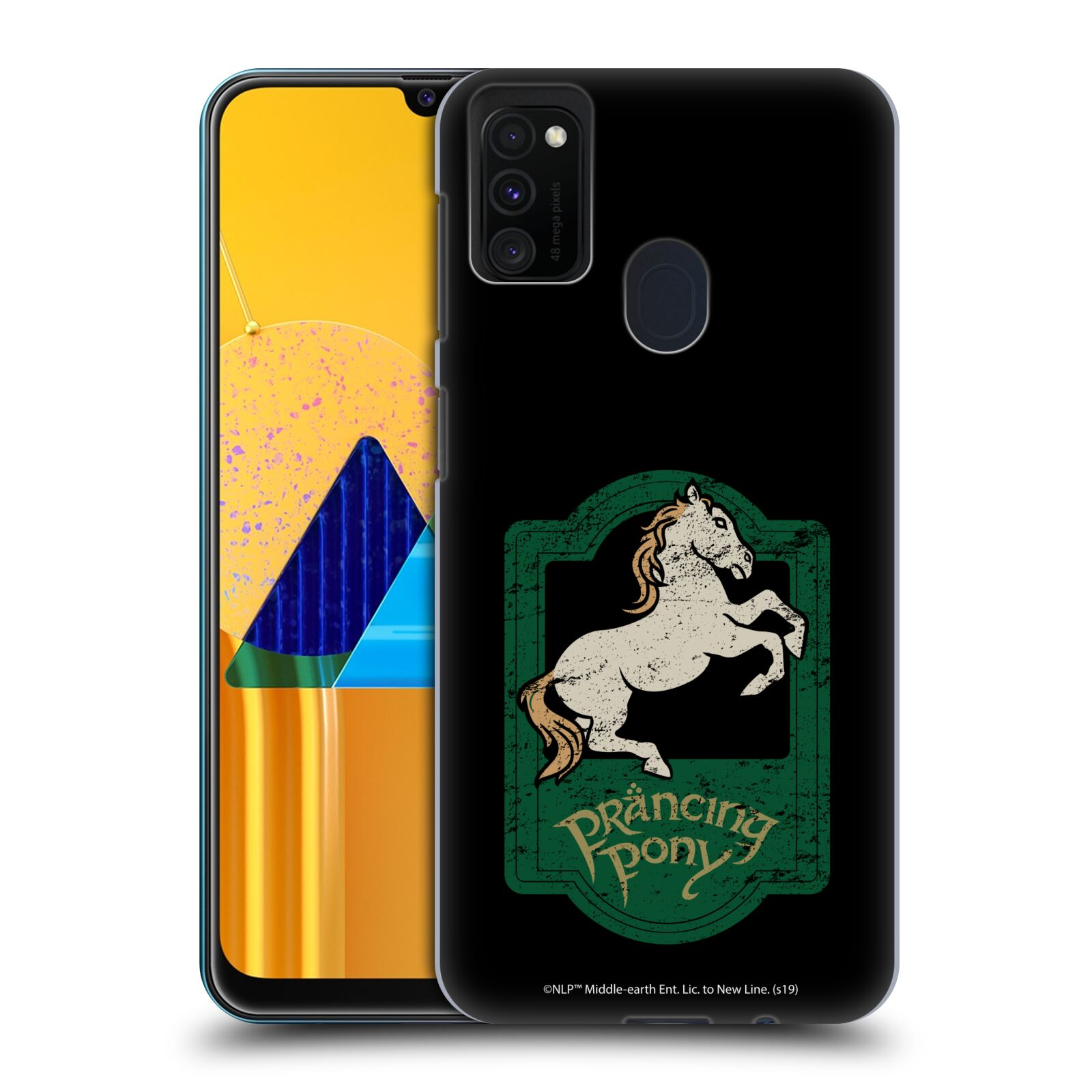 Official The Lord Of The Rings: The Fellowship Of The Ring Graphics Prancing Pony Case for Samsung Galaxy M30s (2019)