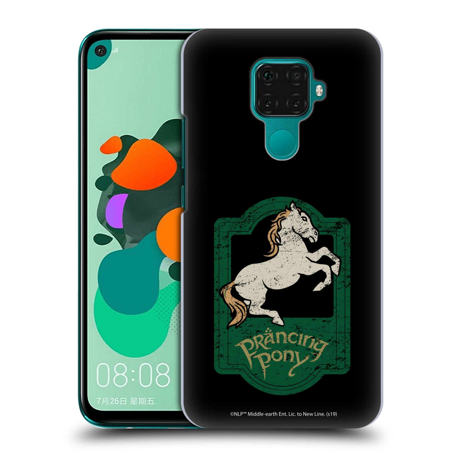Official The Lord Of The Rings: The Fellowship Of The Ring Graphics Prancing Pony Case for Huawei Nova 5i Pro/Mate 30 Lite