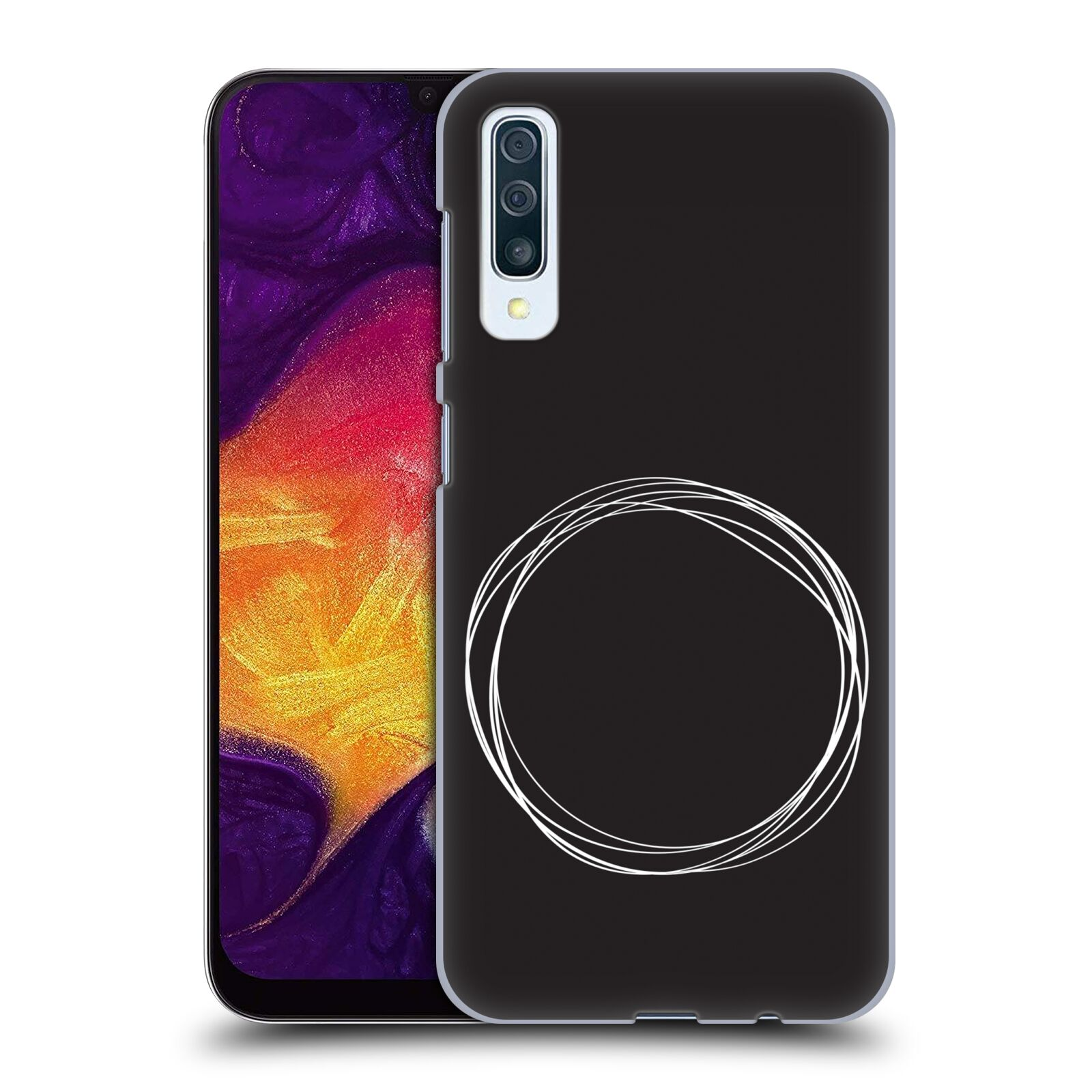 Official The Native State Circles Eclipse Case for Samsung Galaxy A50s (2019)
