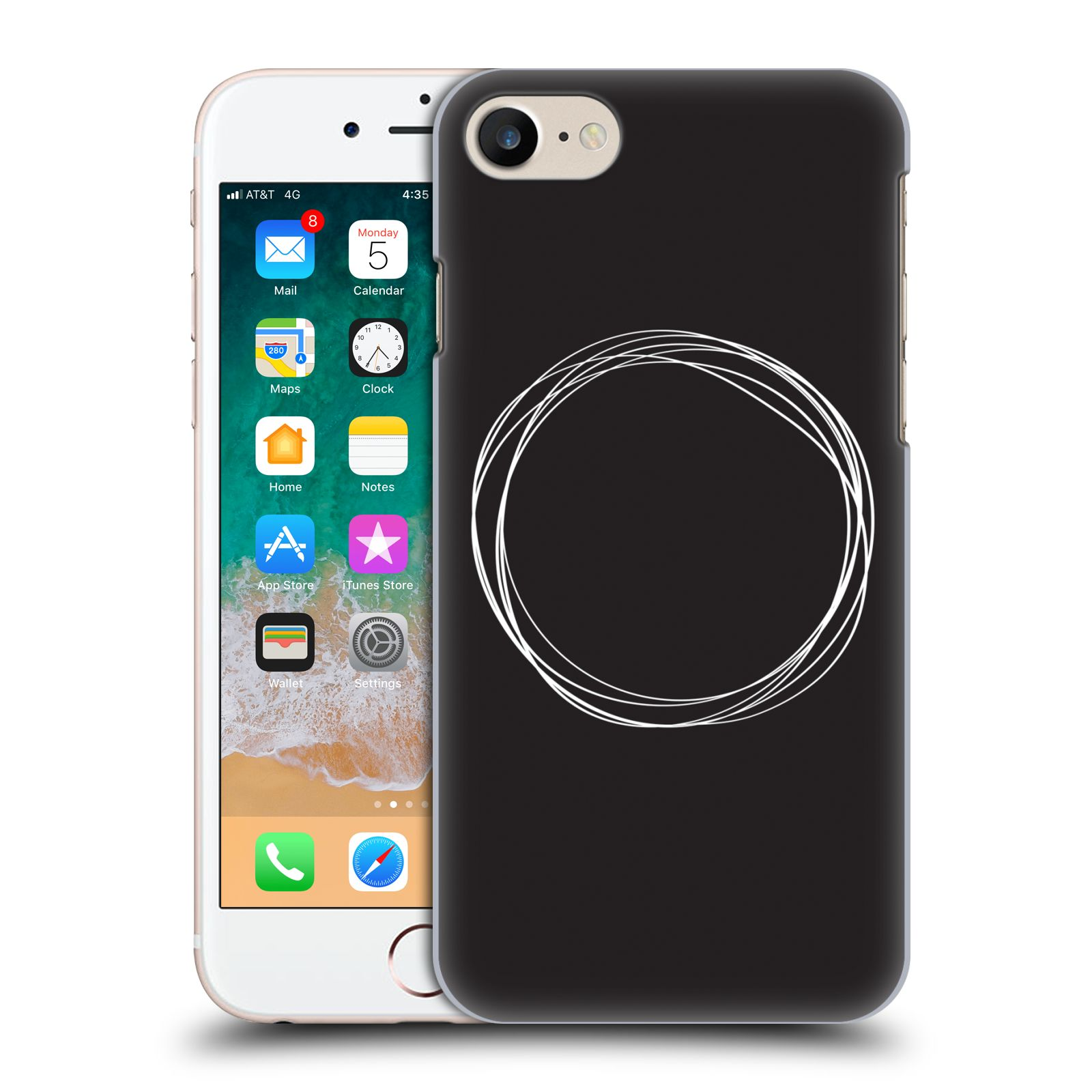 Official The Native State Circles Eclipse Case for Apple iPhone 7 / 8 / iPhone SE 2020