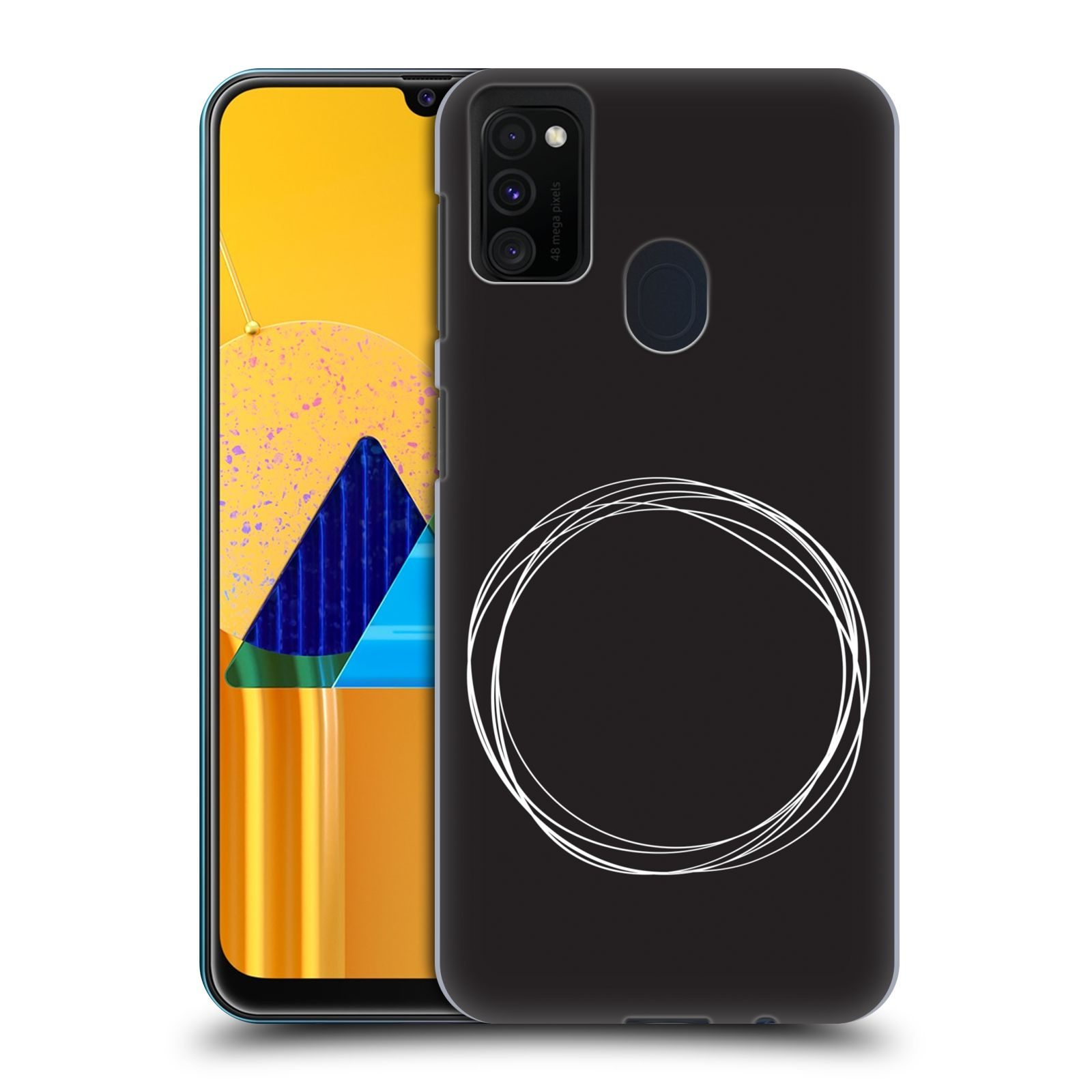 Official The Native State Circles Eclipse Case for Samsung Galaxy M30s (2019)