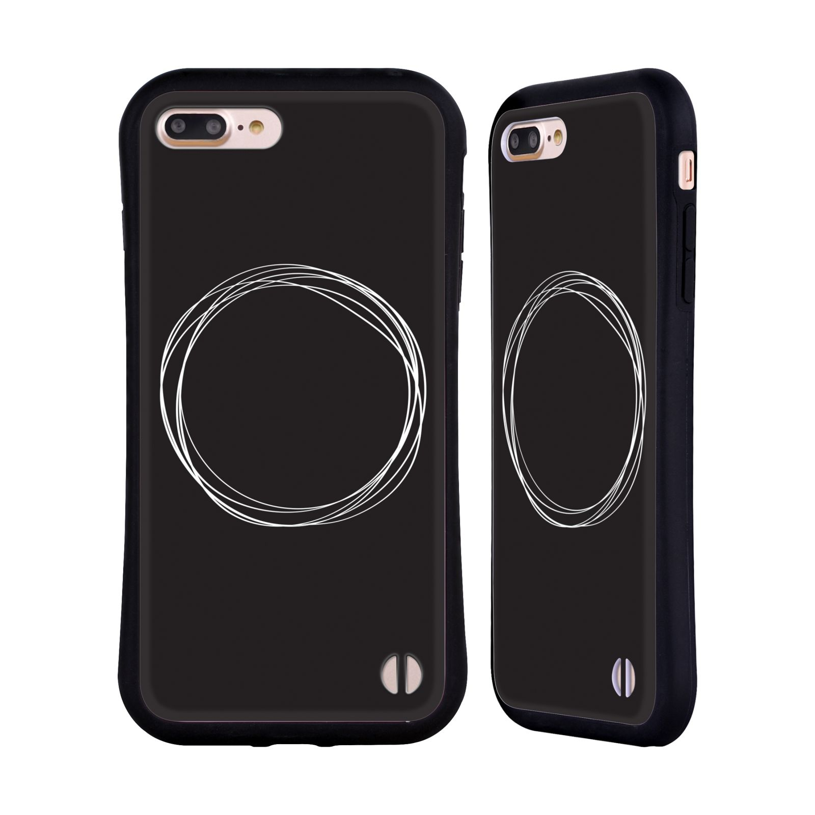 Official The Native State Circles Eclipse Hybrid Case for Apple iPhone 7 Plus / iPhone 8 Plus