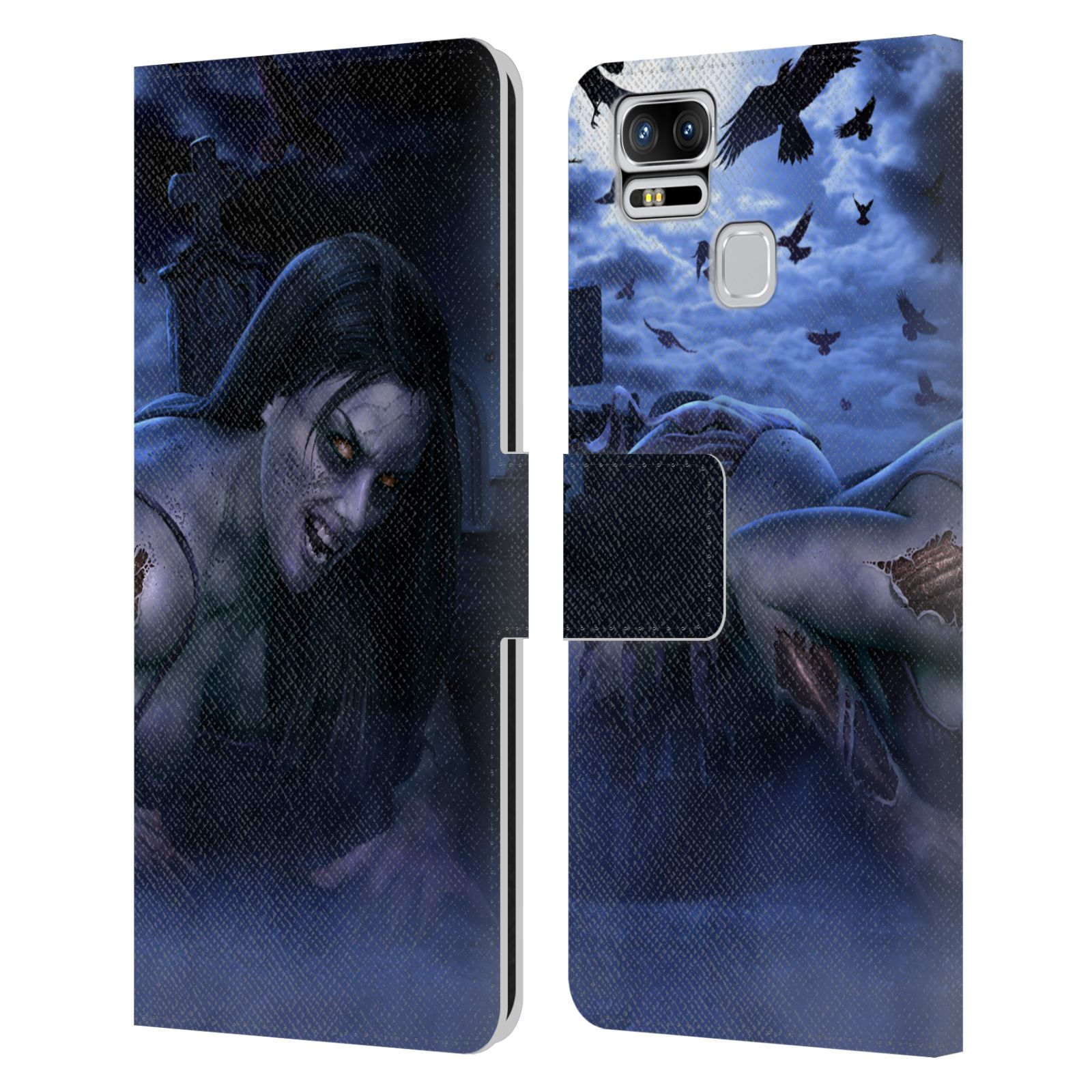OFFICIAL-TOM-WOOD-HORROR-LEATHER-BOOK-WALLET-CASE-COVER-FOR-ASUS-ZENFONE-PHONES