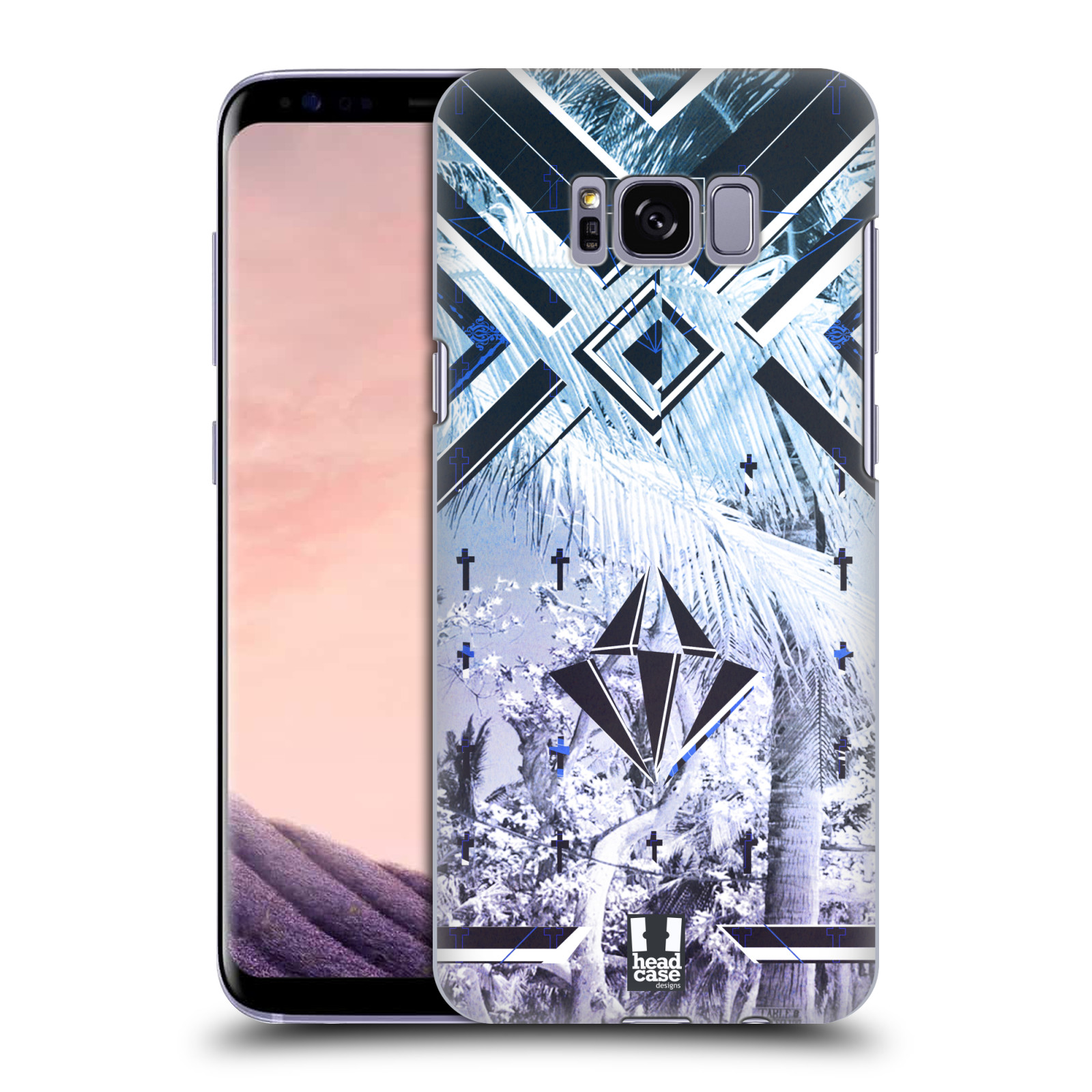 HEAD-CASE-DESIGNS-TROPICAL-TRENDS-HARD-BACK-CASE-FOR-SAMSUNG-GALAXY-S8