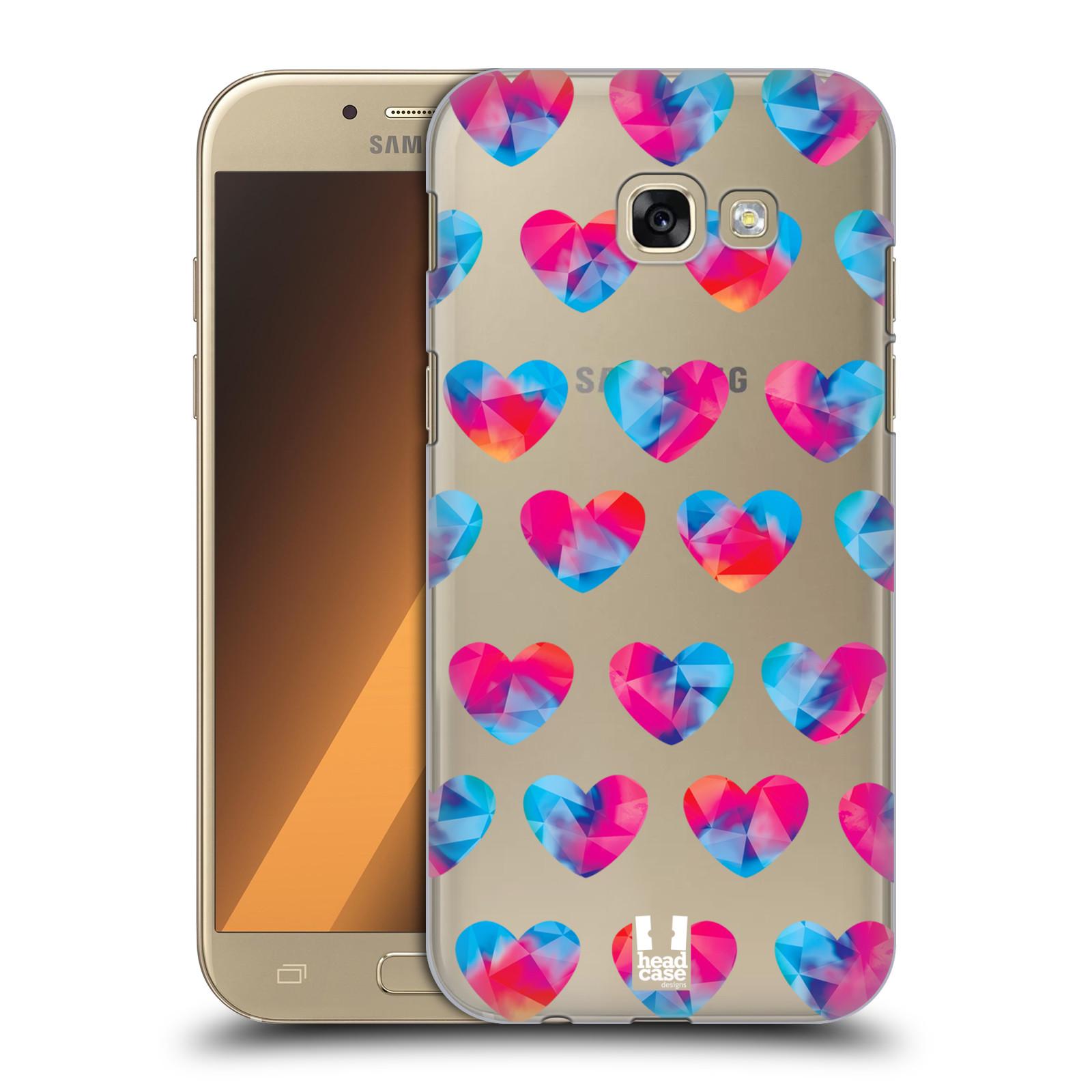 Plastové pouzdro na mobil Samsung Galaxy A5 (2017) - Head Case - Srdíčka hrající barvami