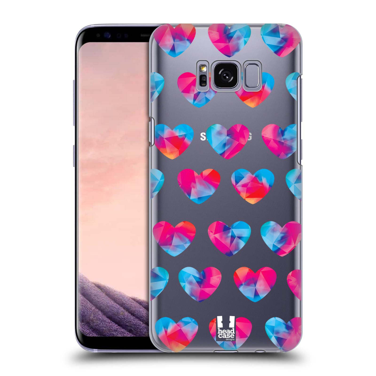 Plastové pouzdro na mobil Samsung Galaxy S8 - Head Case - Srdíčka hrající barvami