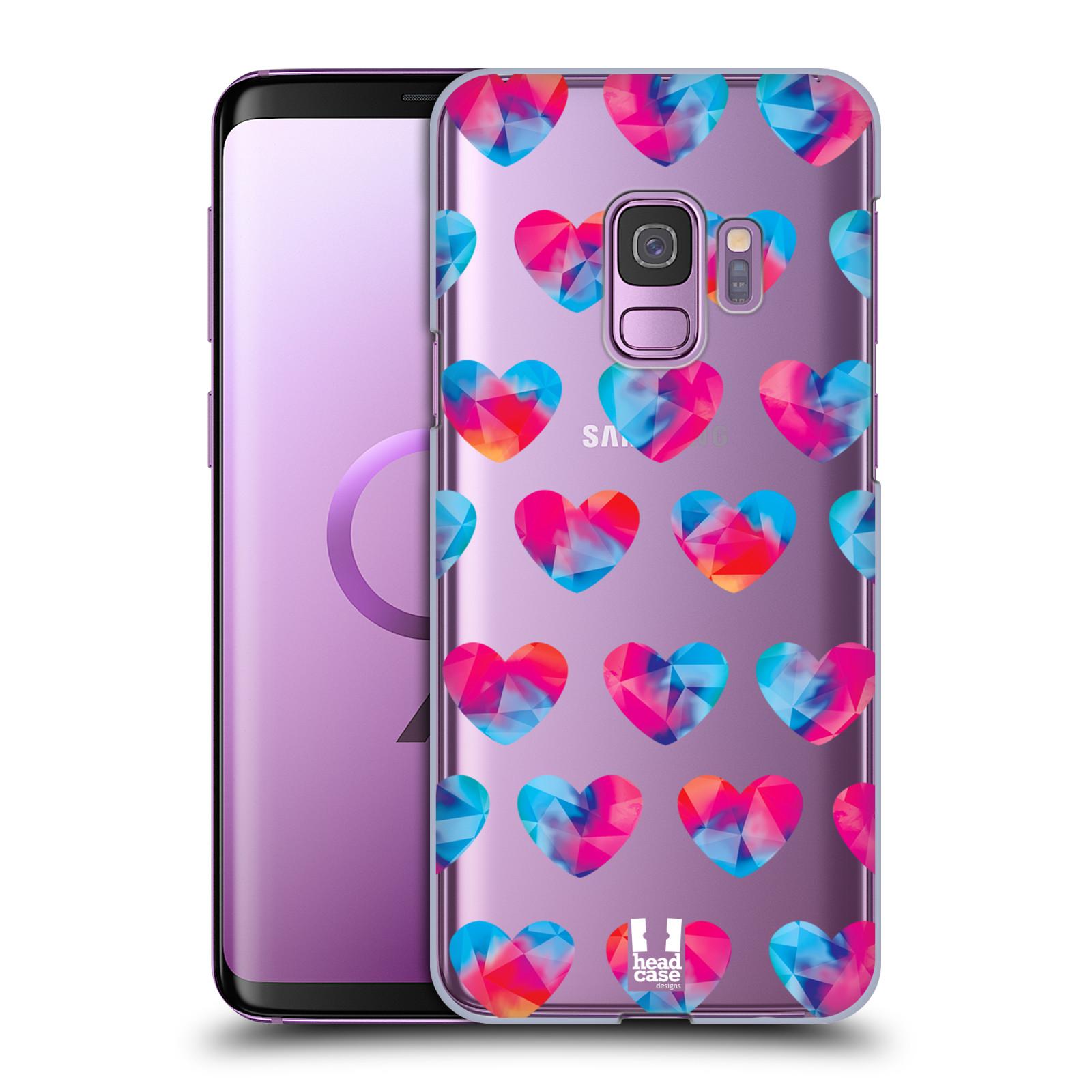 Plastové pouzdro na mobil Samsung Galaxy S9 - Head Case - Srdíčka hrající barvami