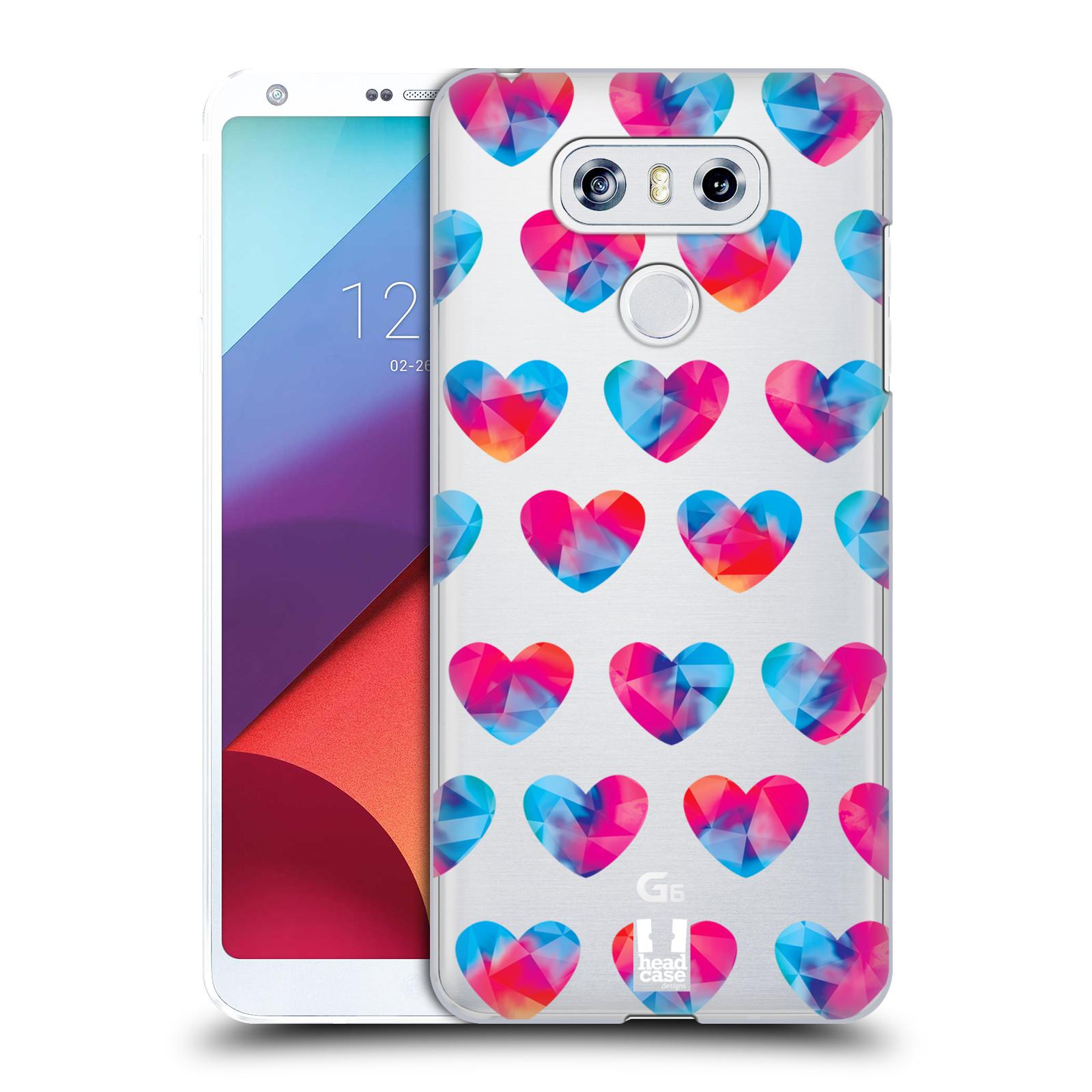 Plastové pouzdro na mobil LG G6 - Head Case - Srdíčka hrající barvami