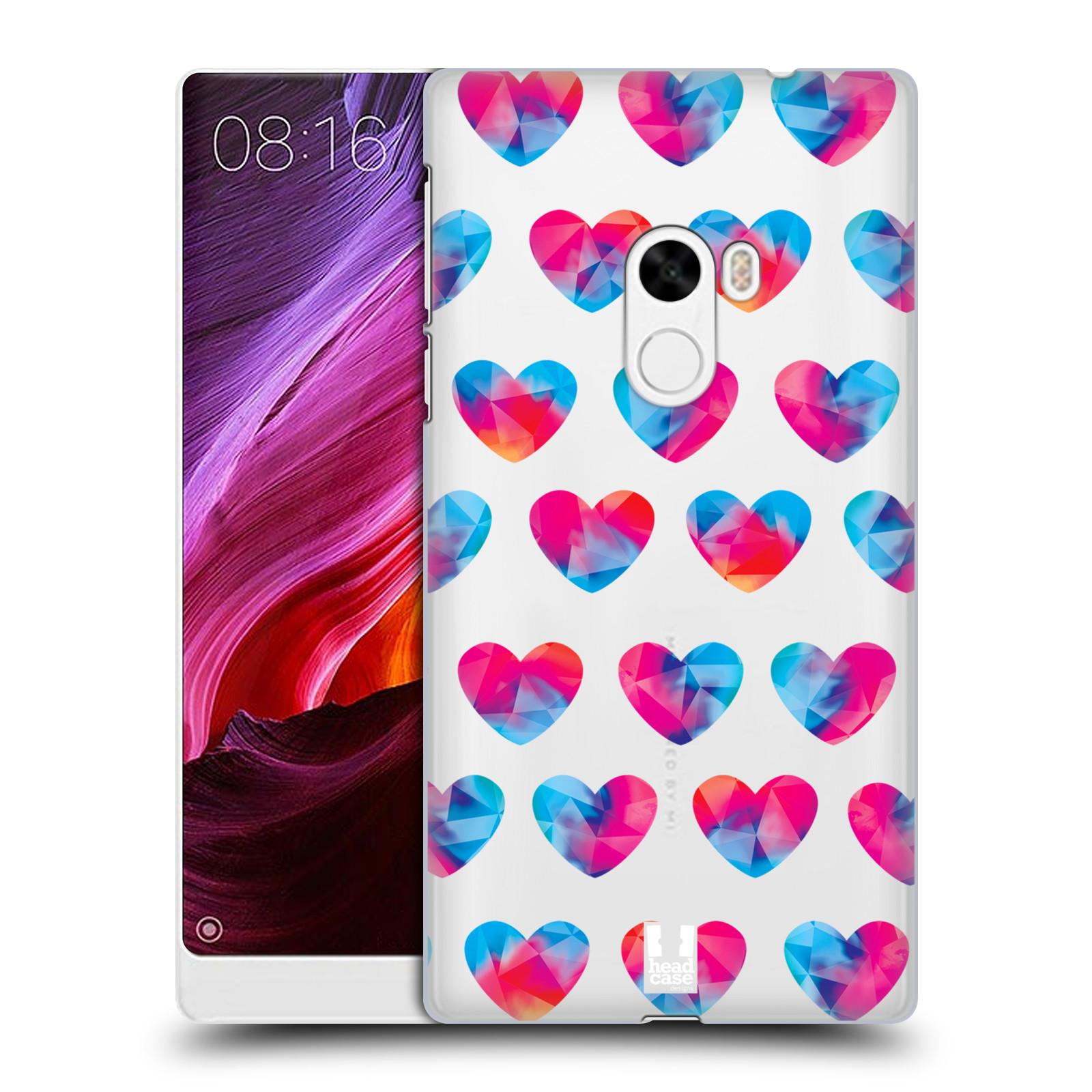 Plastové pouzdro na mobil Xiaomi Mi Mix - Head Case - Srdíčka hrající barvami