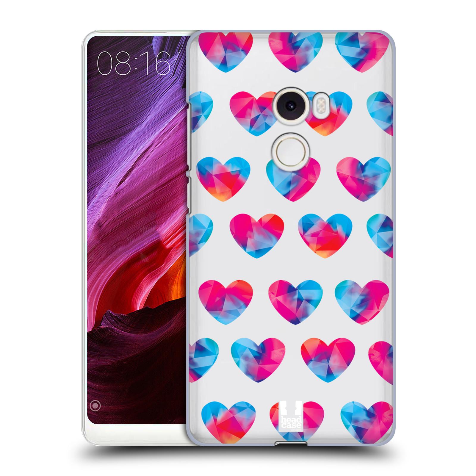 Plastové pouzdro na mobil Xiaomi Mi Mix 2 - Head Case - Srdíčka hrající barvami