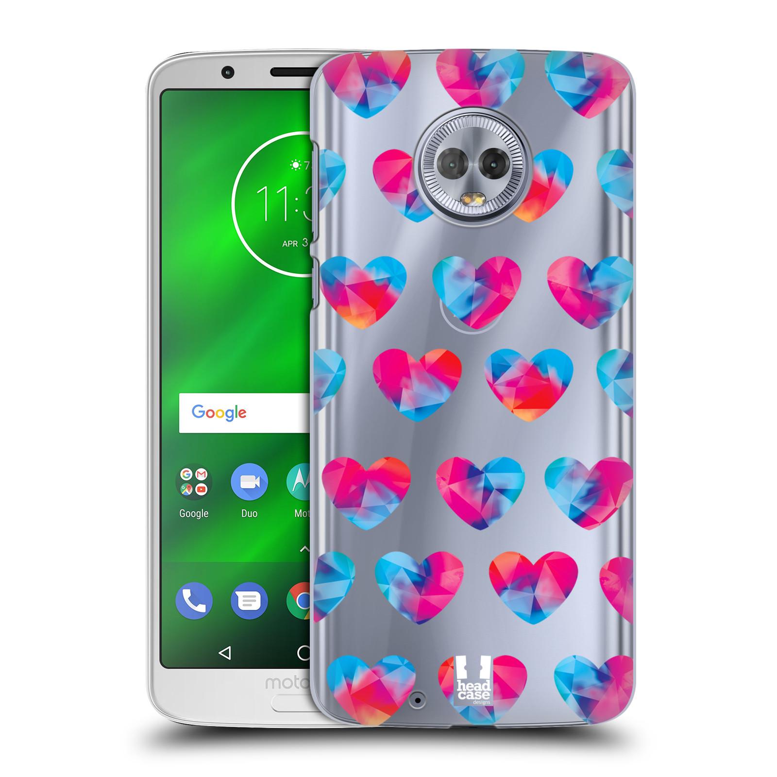Plastové pouzdro na mobil Motorola Moto G6 - Head Case - Srdíčka hrající barvami