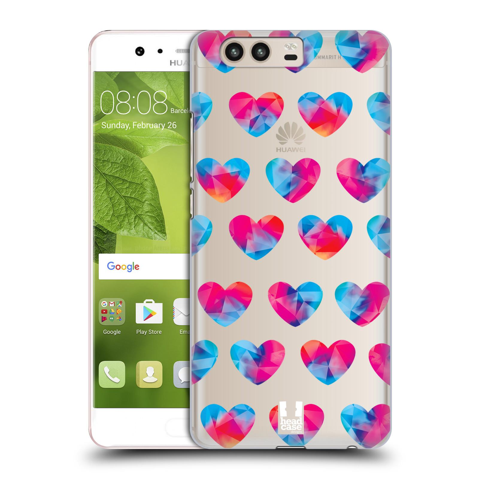 Plastové pouzdro na mobil Huawei P10 - Head Case - Srdíčka hrající barvami