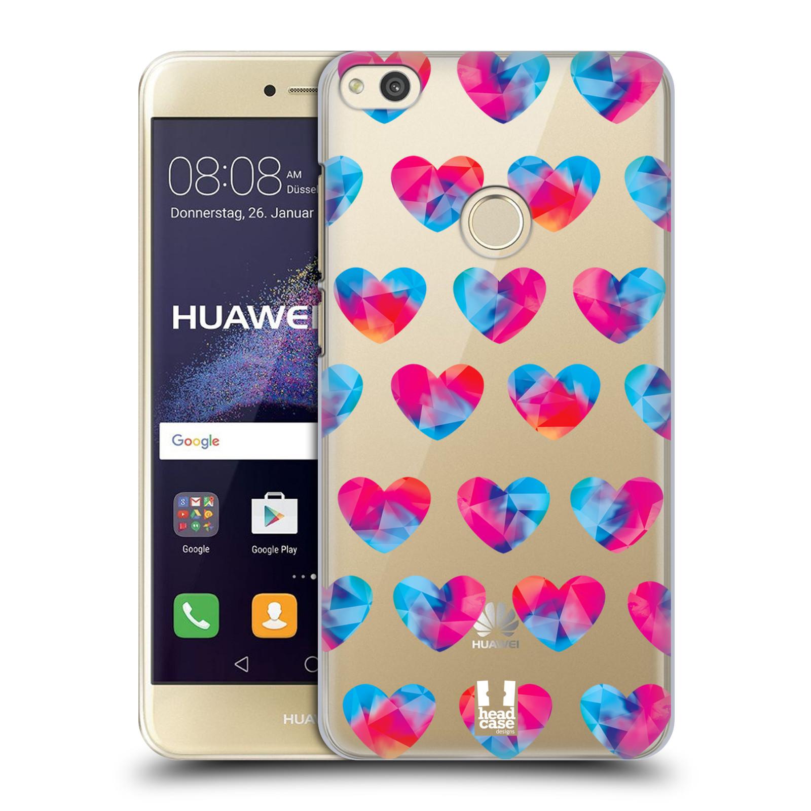 Plastové pouzdro na mobil Huawei P9 Lite (2017) - Head Case - Srdíčka hrající barvami