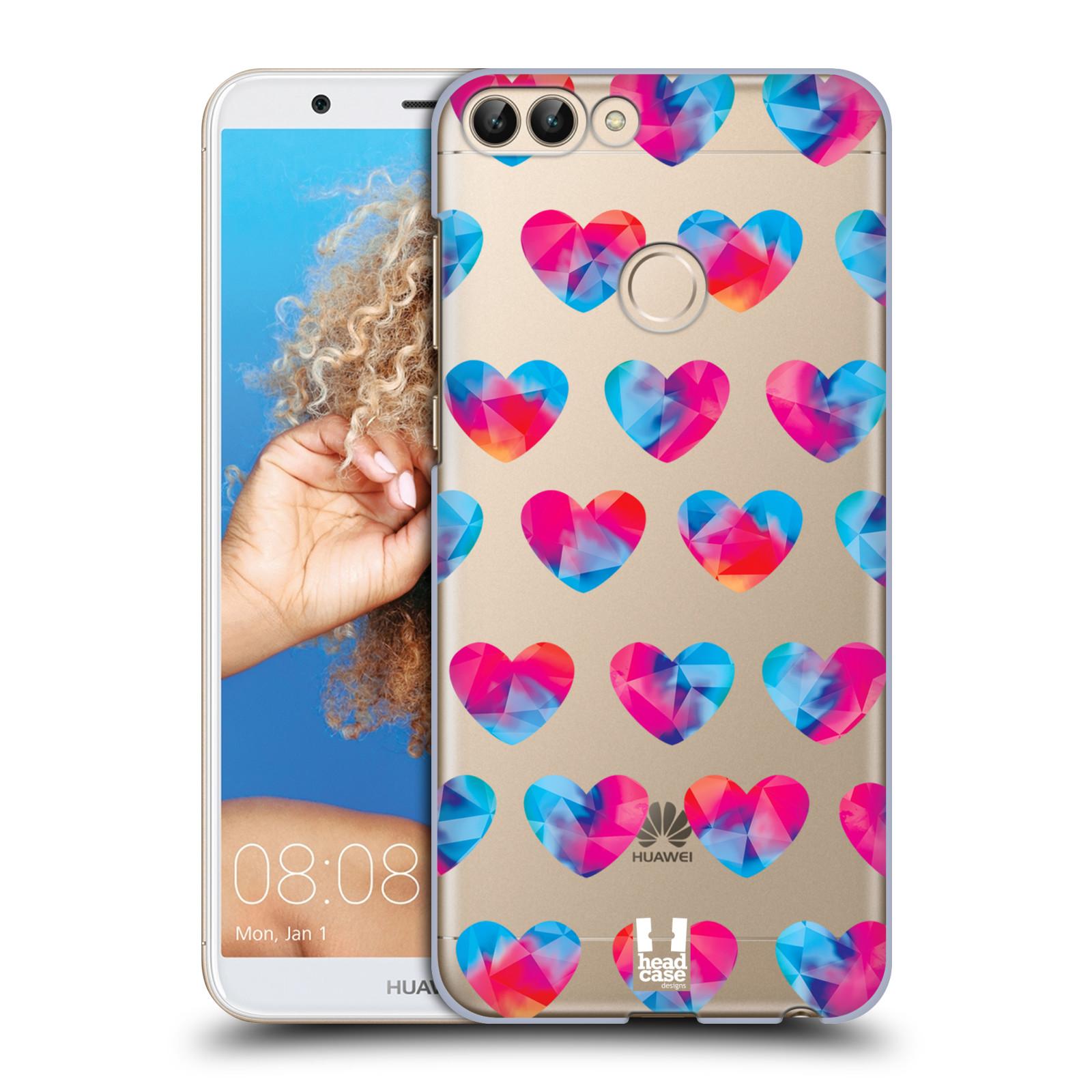Plastové pouzdro na mobil Huawei P Smart - Head Case - Srdíčka hrající barvami