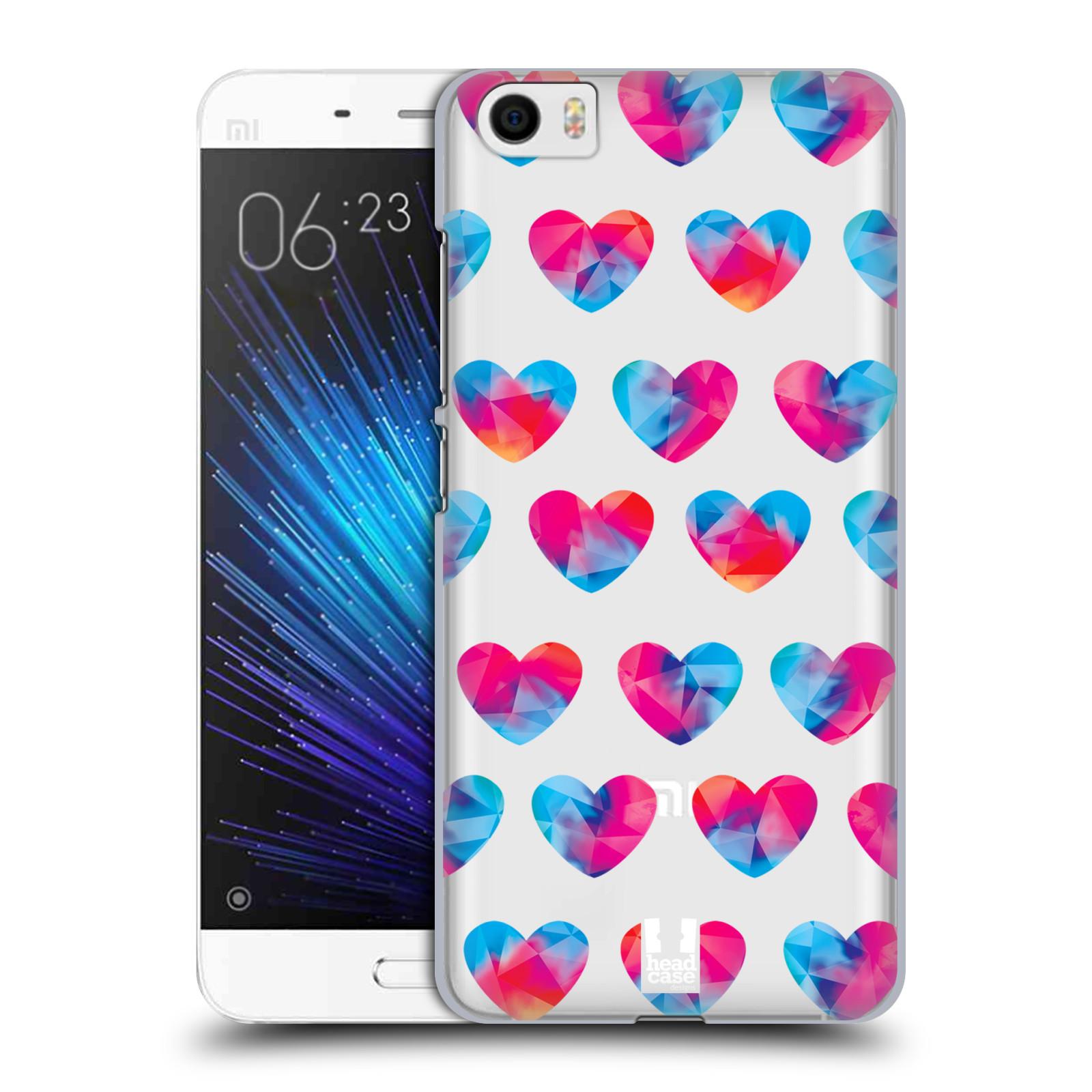 Plastové pouzdro na mobil Xiaomi Mi5 - Head Case - Srdíčka hrající barvami